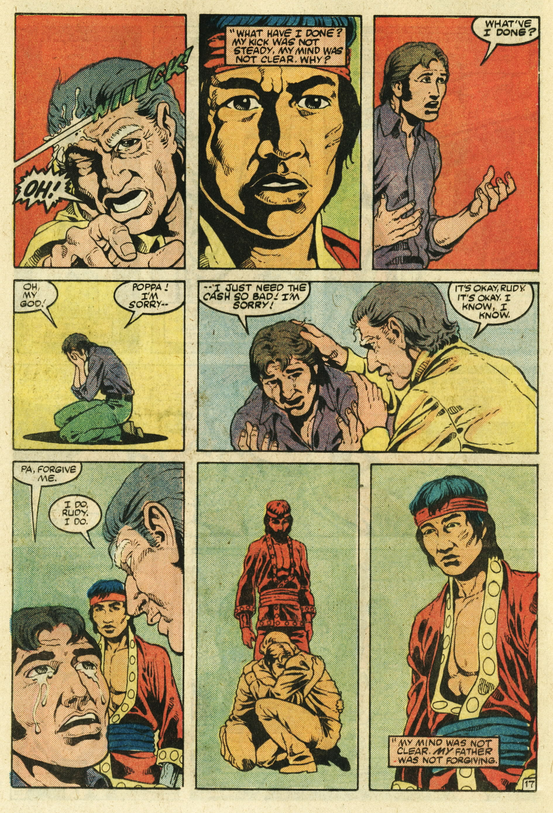 Read online Master of Kung Fu (1974) comic -  Issue #123 - 18