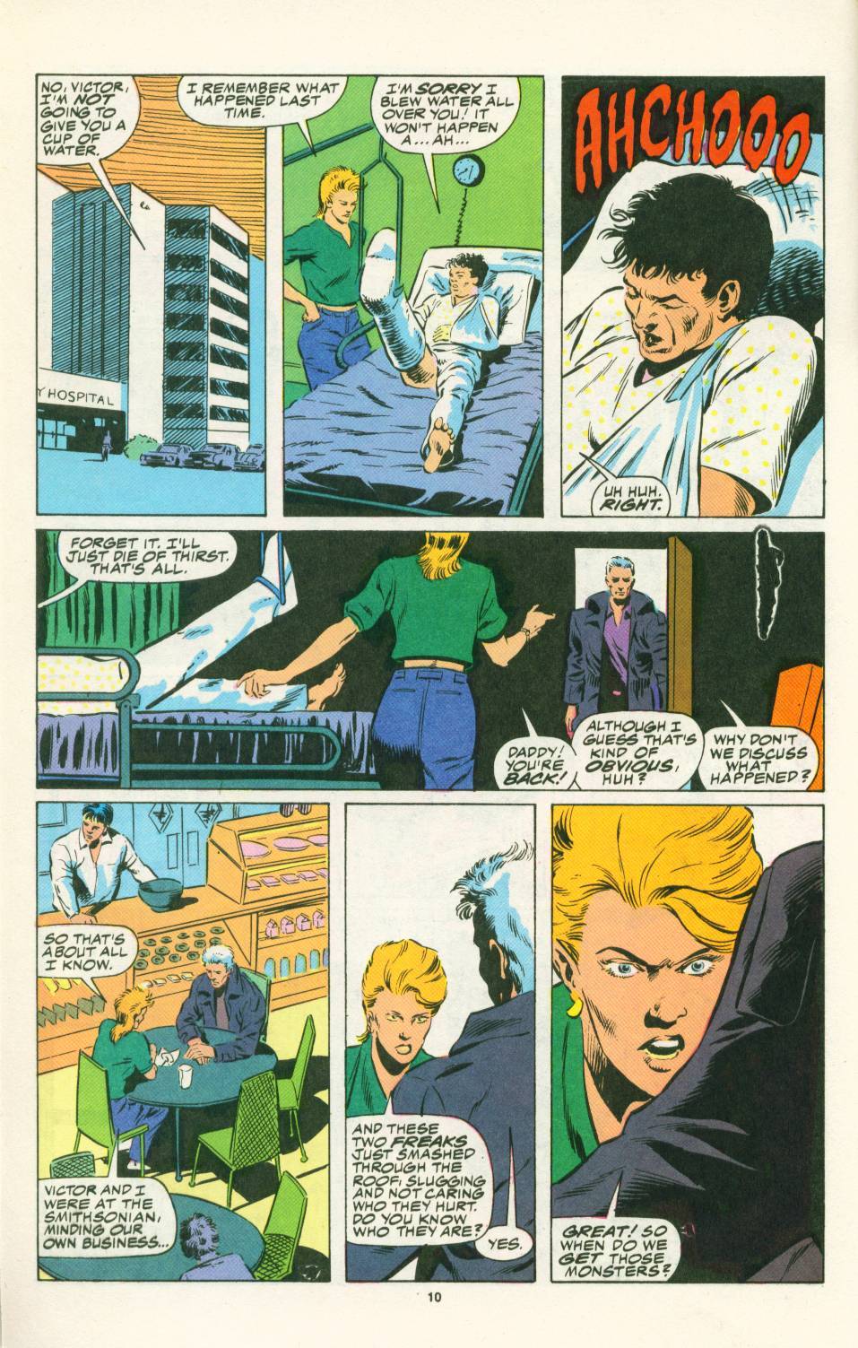 Read online Justice (1986) comic -  Issue #25 - 12