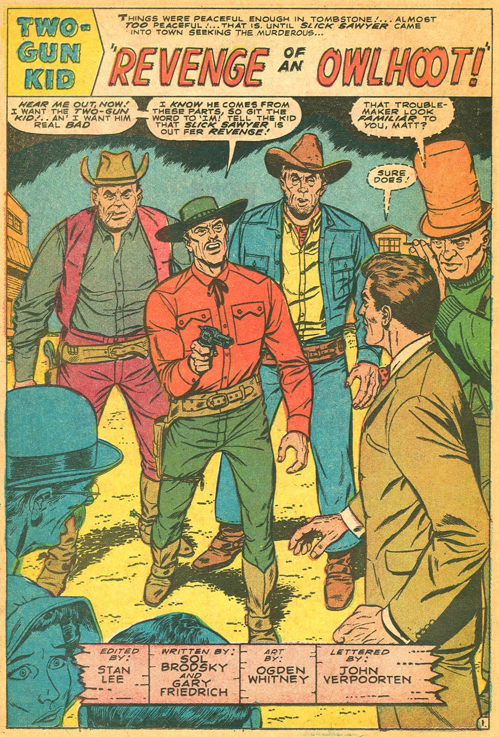 Read online Two-Gun Kid comic -  Issue #87 - 14