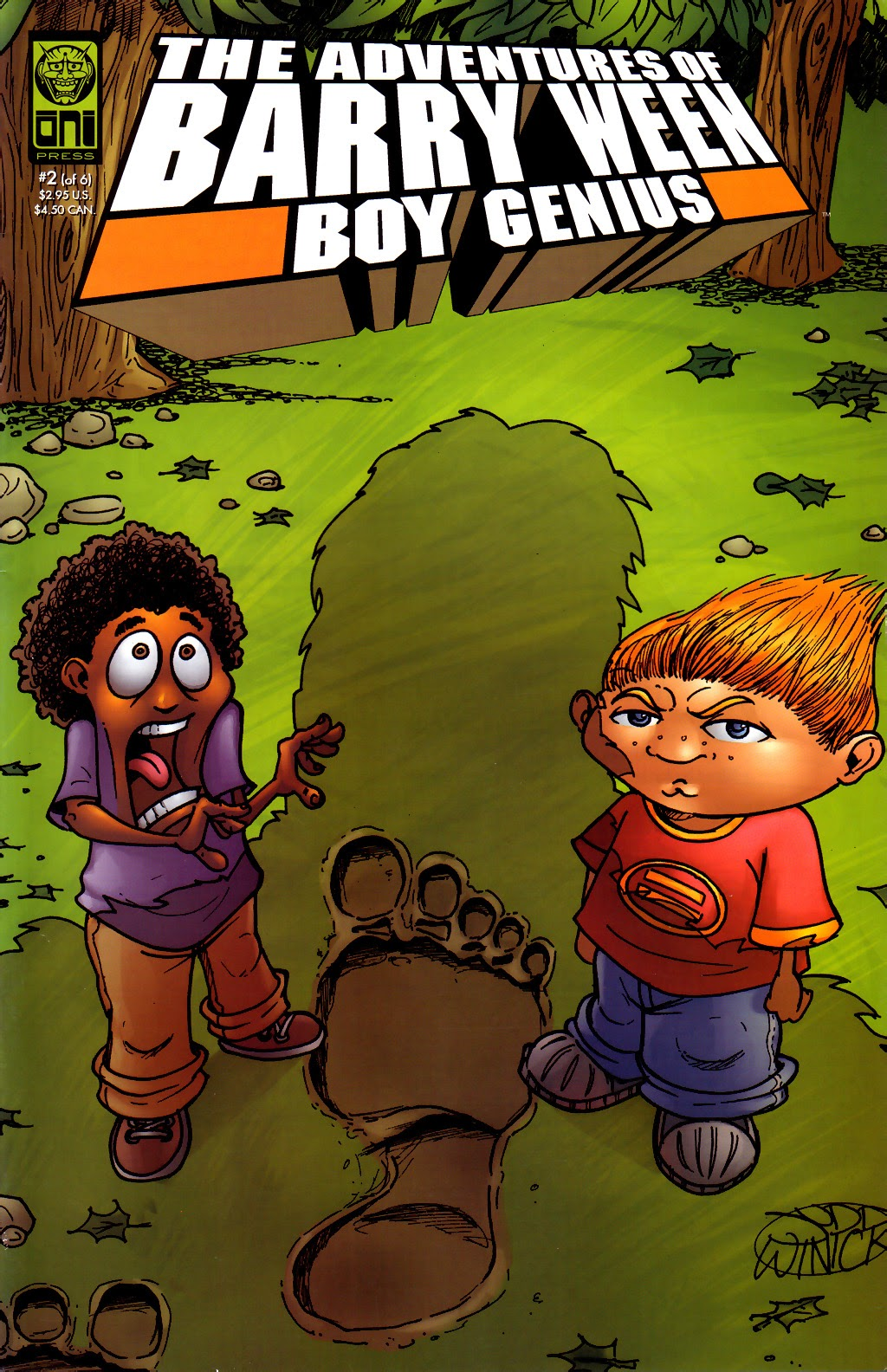 The Adventures of Barry Ween, Boy Genius 3: Monkey Tales 2 Page 1