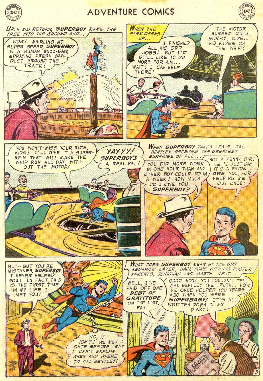 Read online Adventure Comics (1938) comic -  Issue #231 - 6