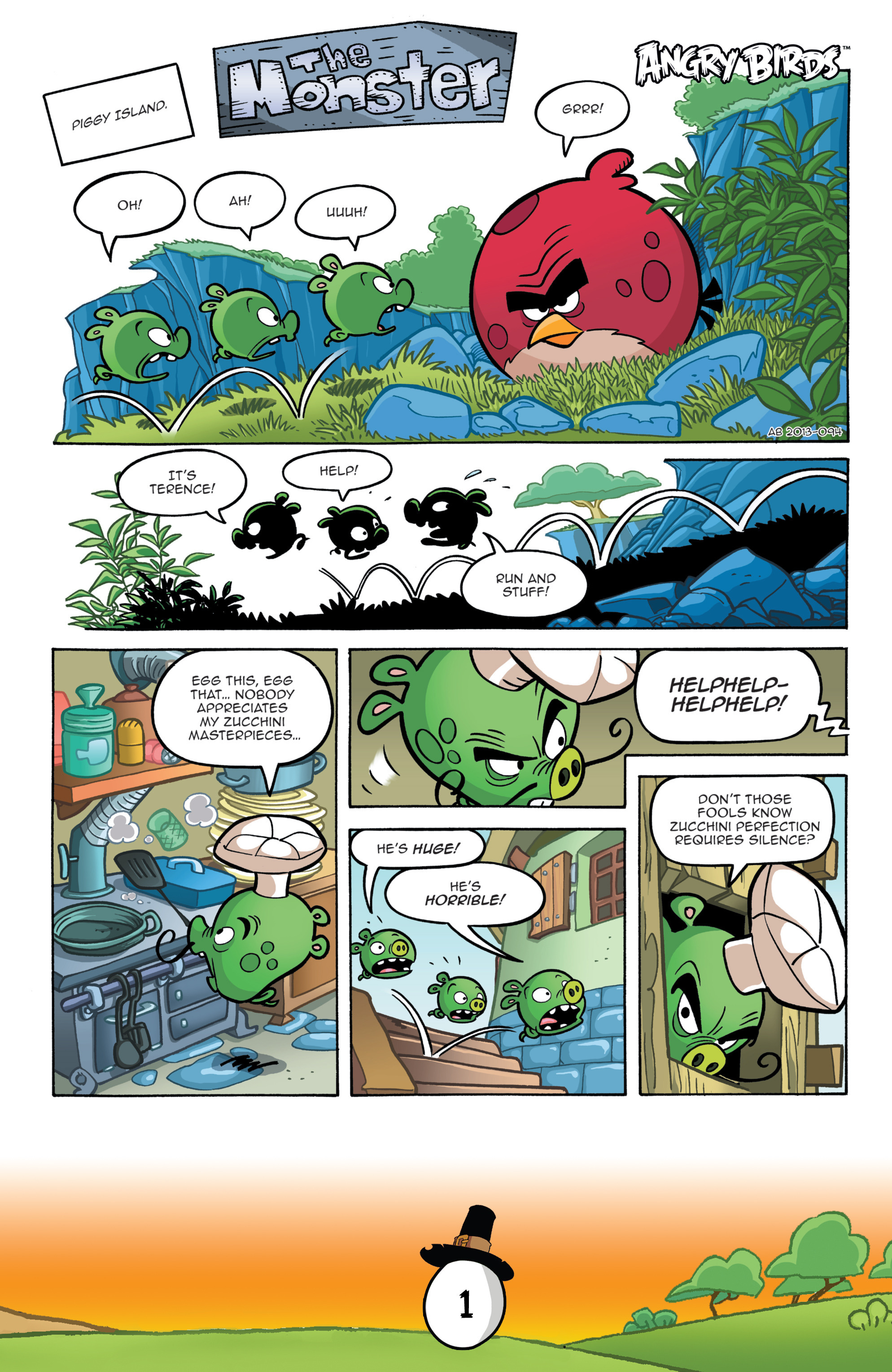 Read online Angry Birds Comics (2016) comic -  Issue #11 - 3