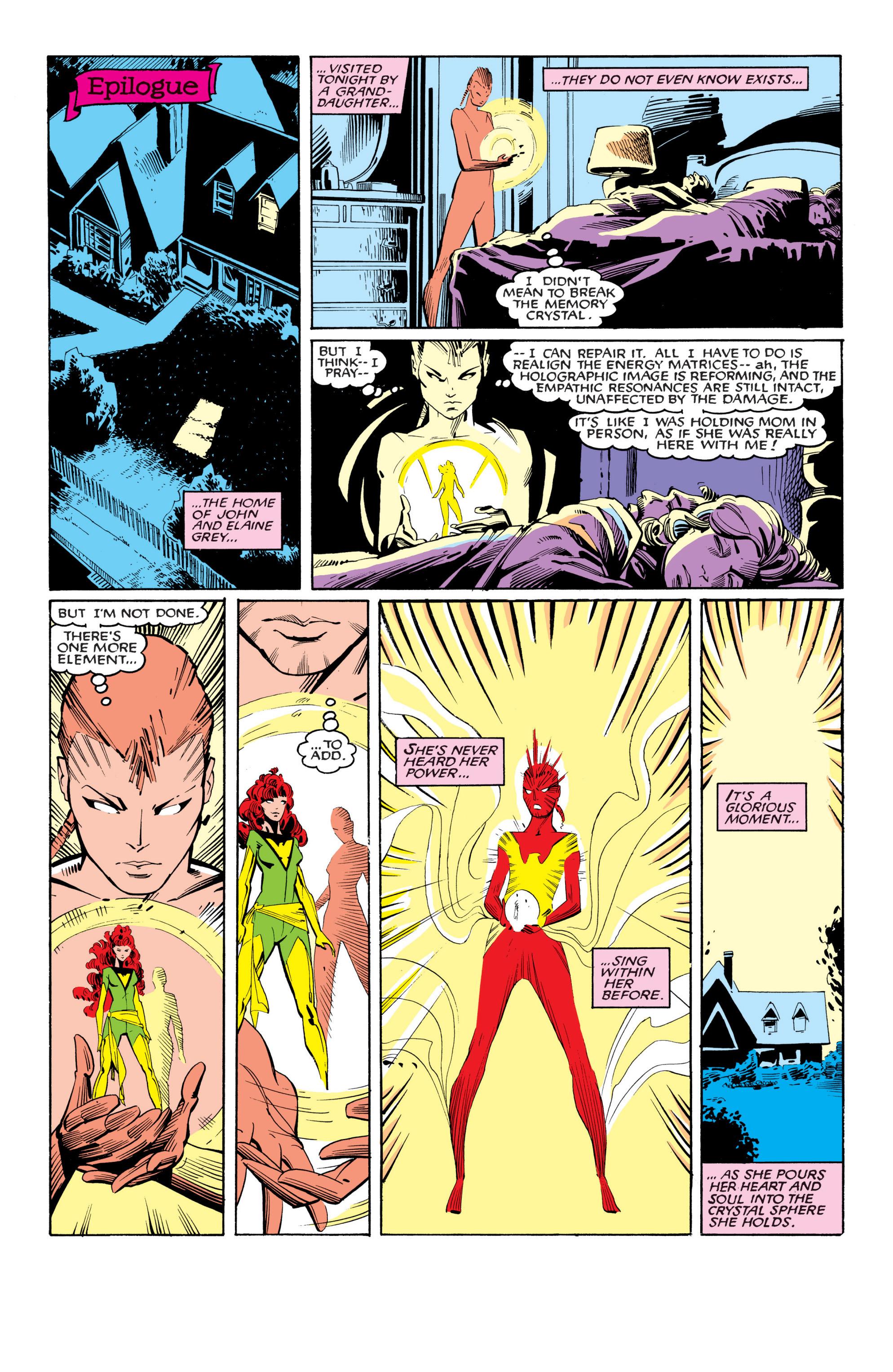 Read online Uncanny X-Men (1963) comic -  Issue #201 - 22