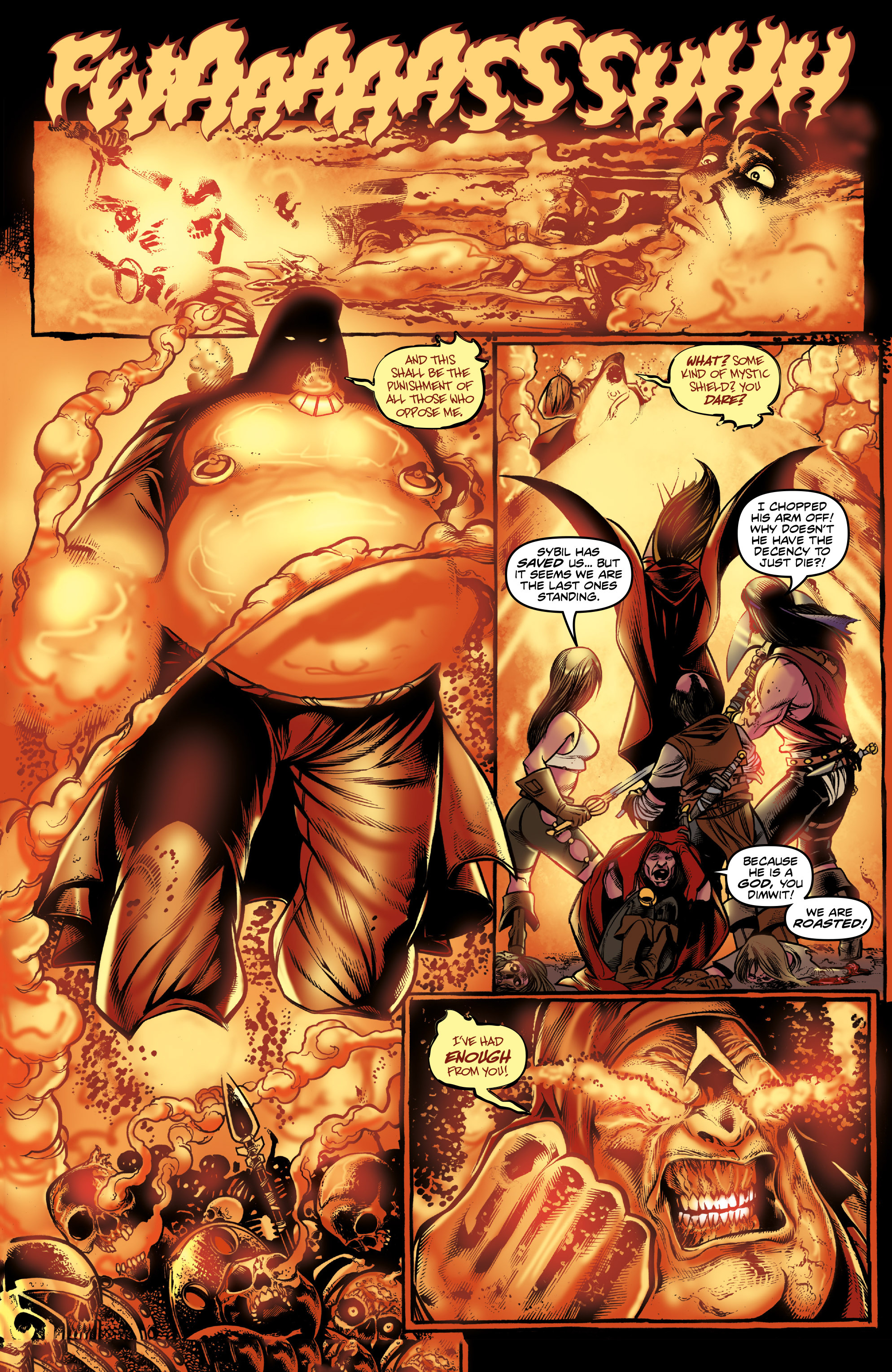 Read online Rogues!: The Burning Heart comic -  Issue #3 - 17