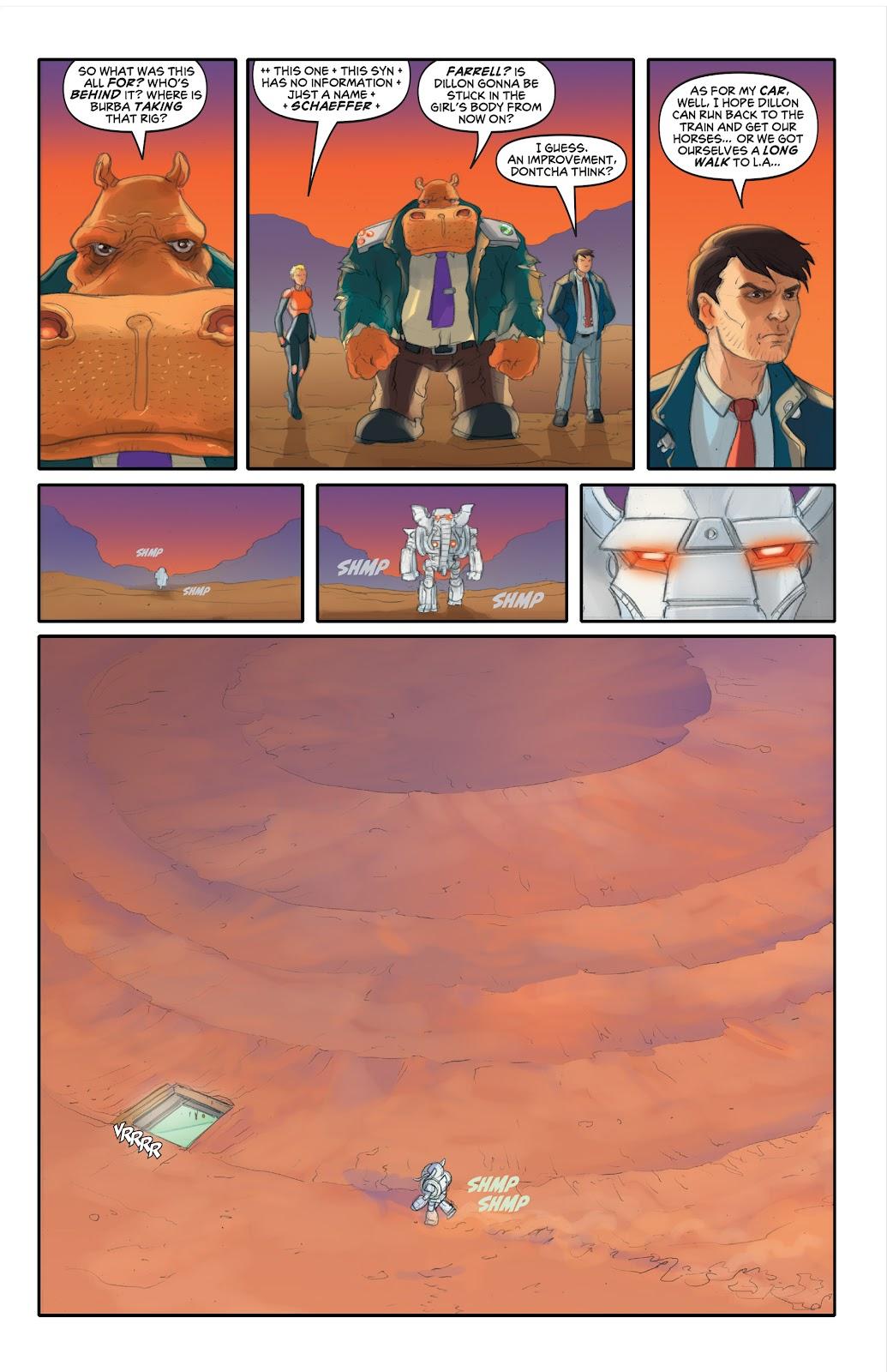 Read online Elephantmen 2261 Season Two: The Pentalion Job comic -  Issue # TPB - 90