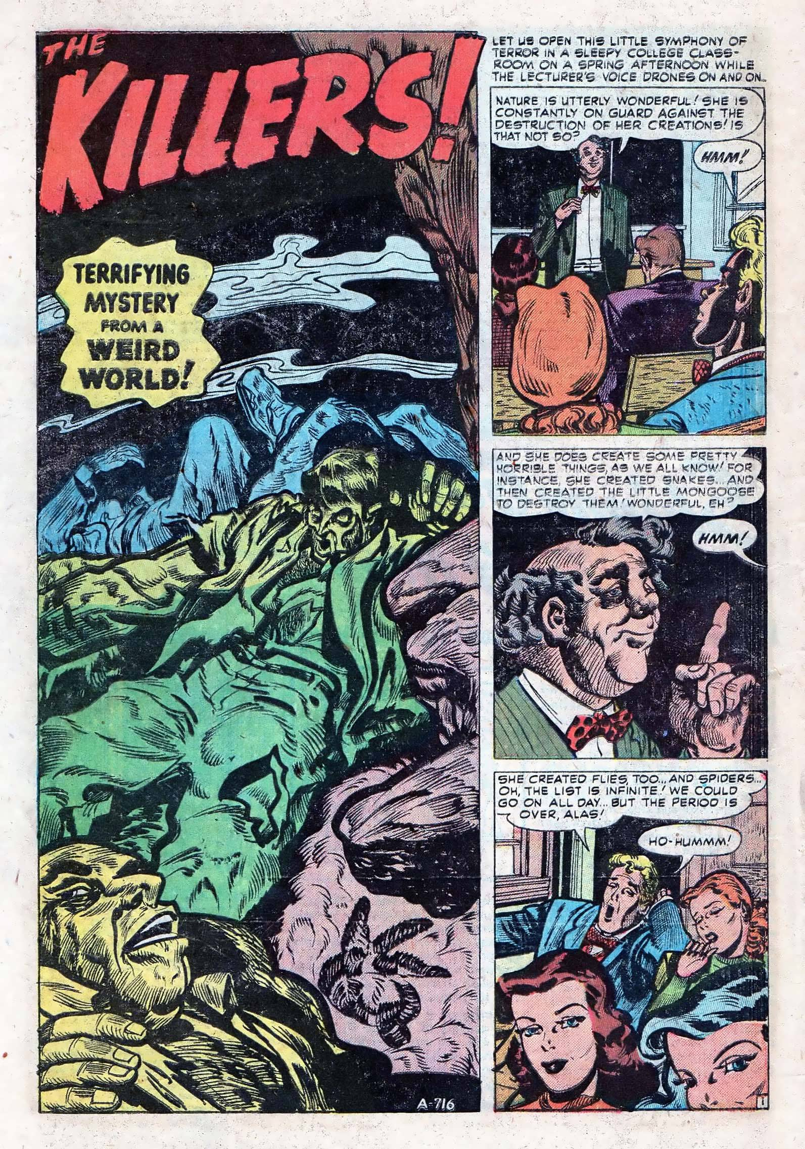 Read online Adventures into Weird Worlds comic -  Issue #10 - 9