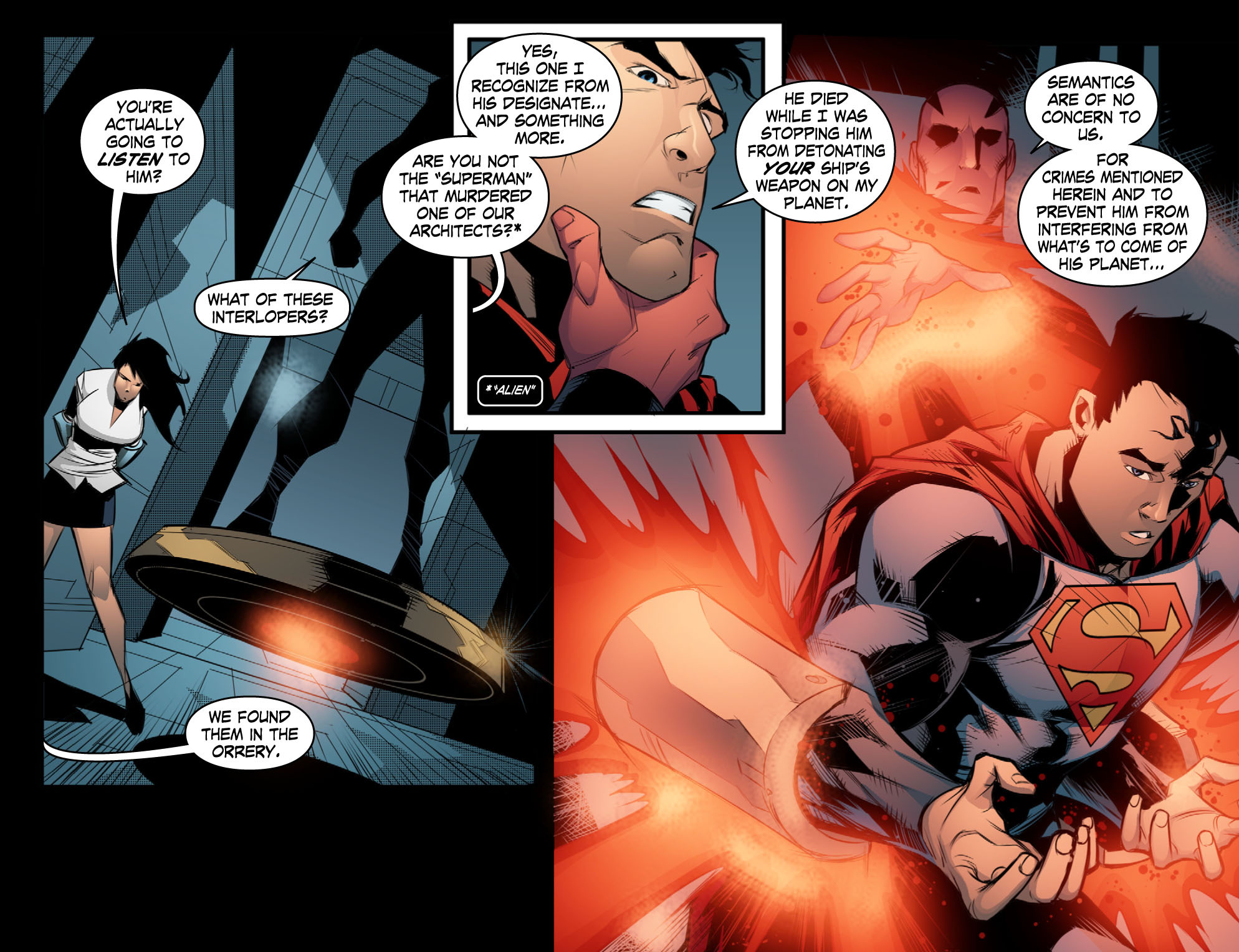 Read online Smallville: Chaos [II] comic -  Issue #10 - 20