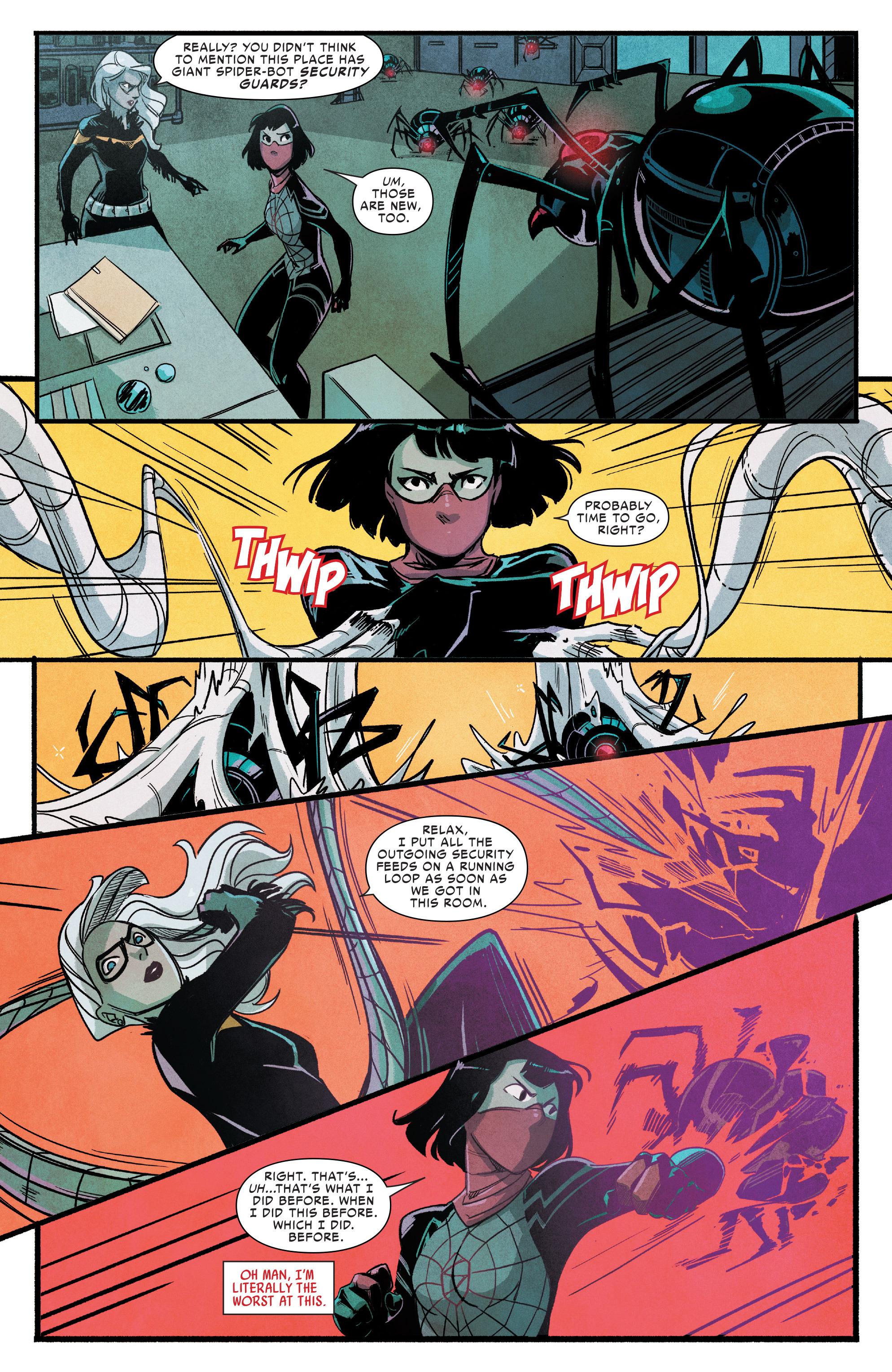 Read online Silk (2016) comic -  Issue #9 - 7