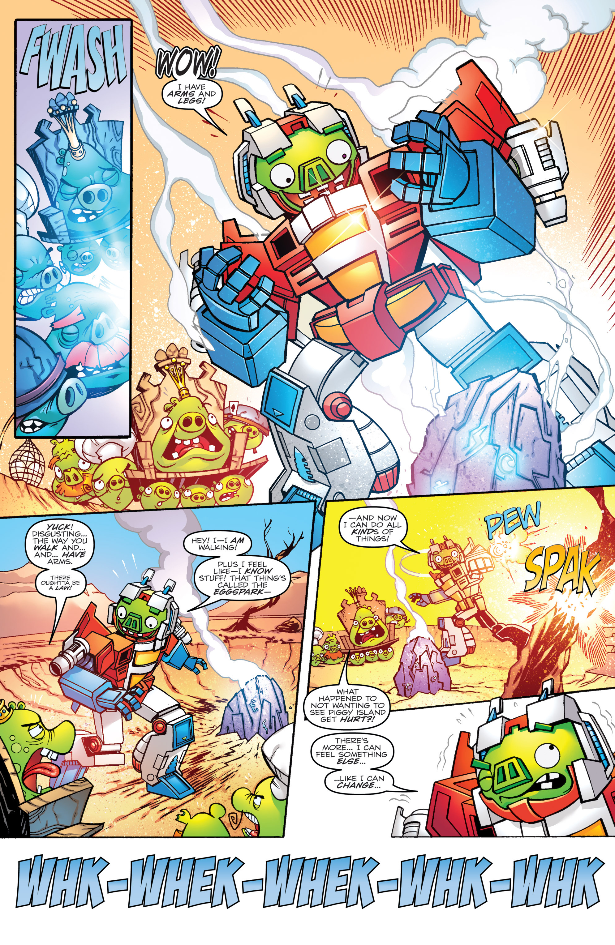 Read online Angry Birds Transformers comic -  Issue #1 - 14