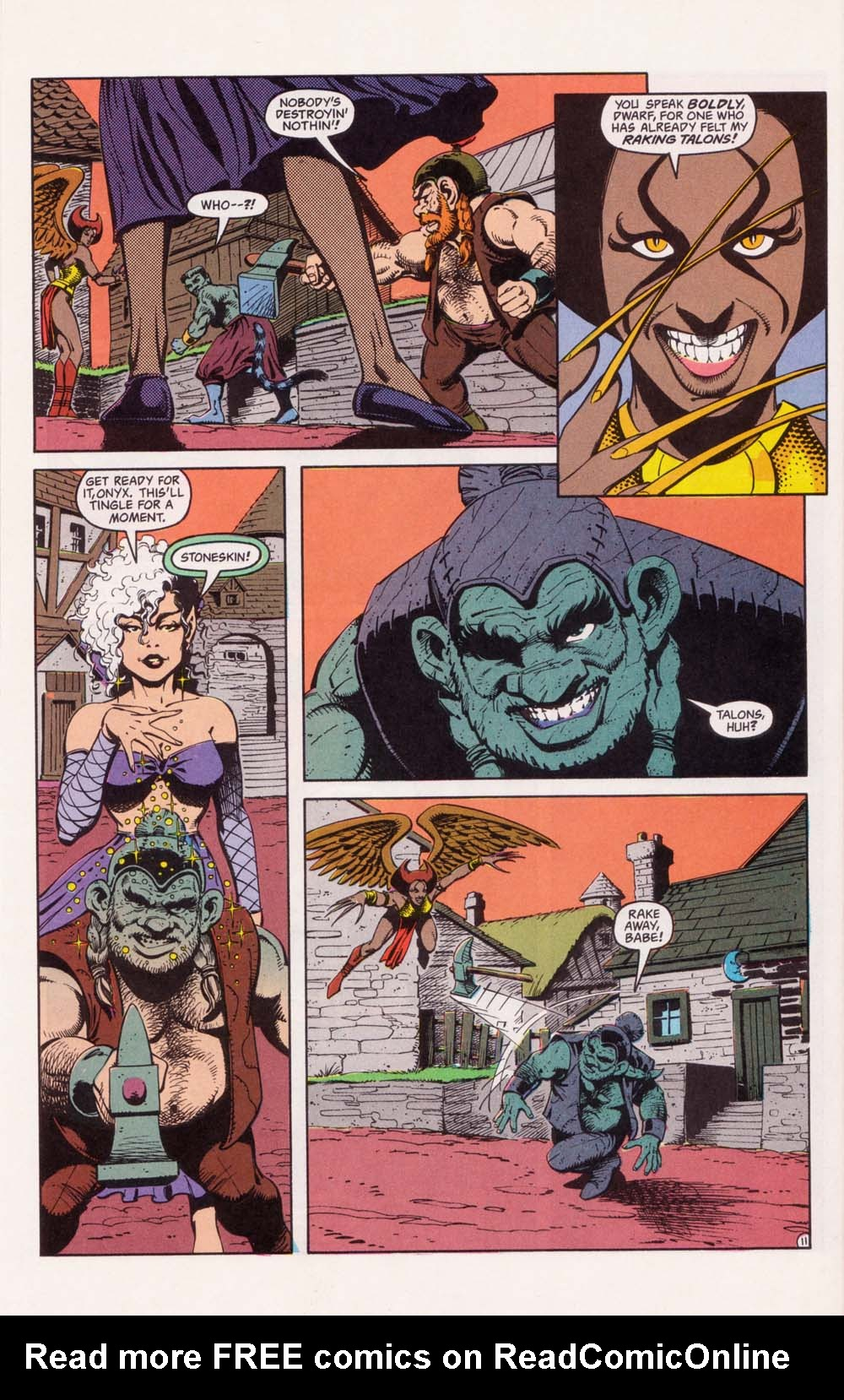 Read online Advanced Dungeons & Dragons comic -  Issue #33 - 11