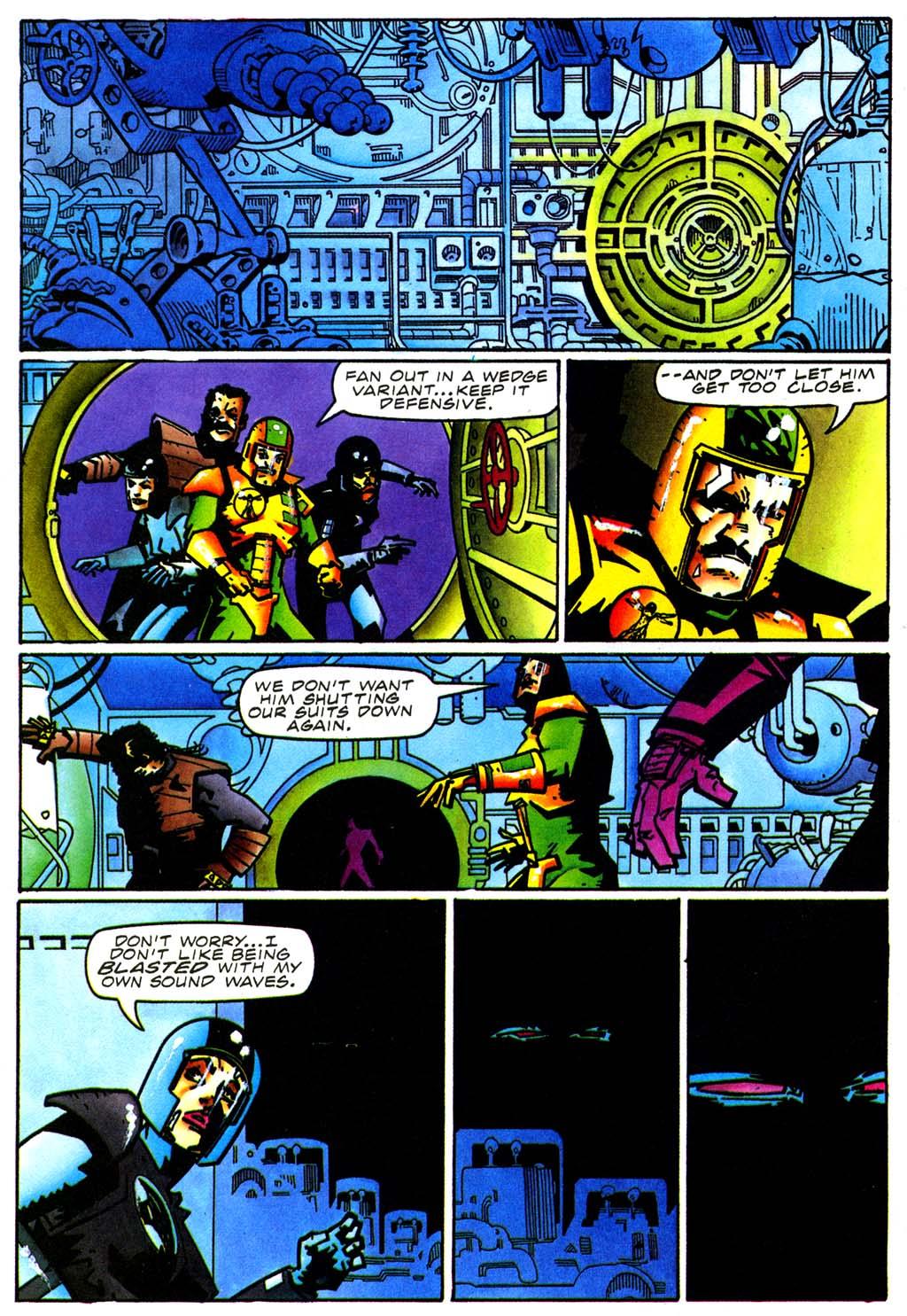 Read online Secret Weapons comic -  Issue #20 - 16
