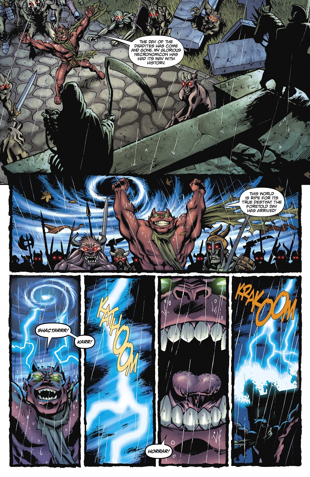 Army of Darkness: The Long Road Home issue TPB - Page 17