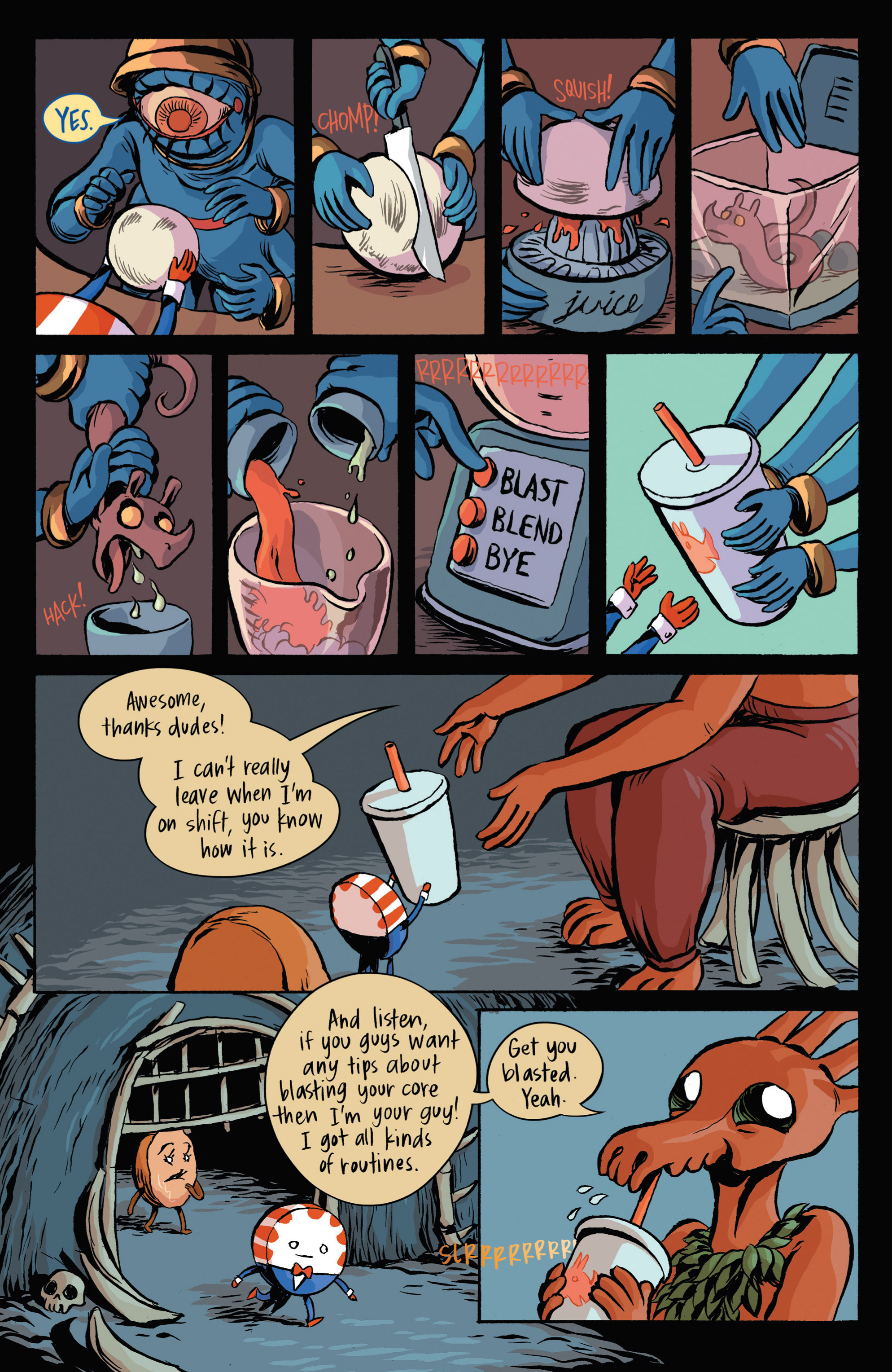 Read online Adventure Time: Candy Capers comic -  Issue #3 - 15