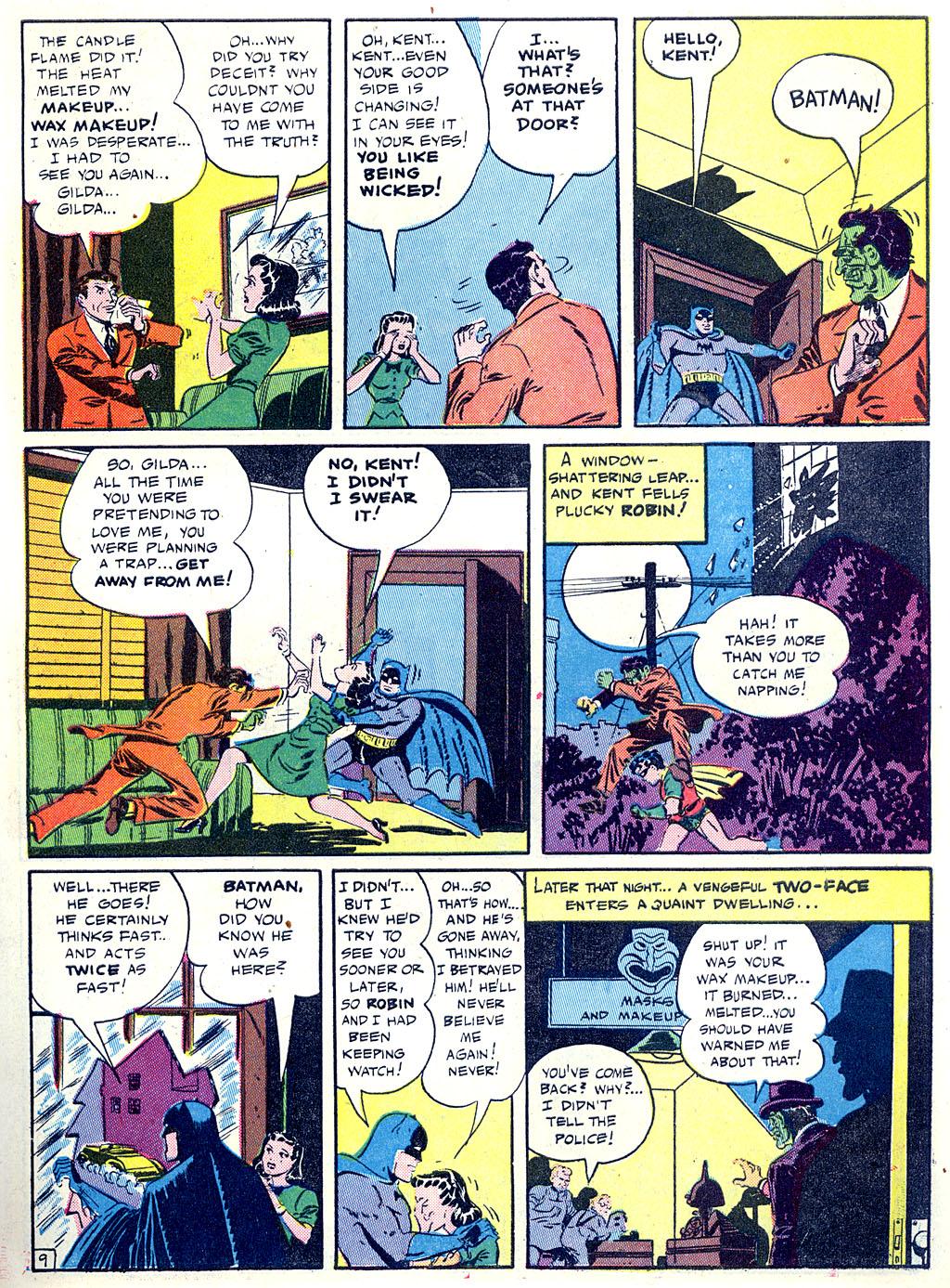 Read online Detective Comics (1937) comic -  Issue #68 - 11