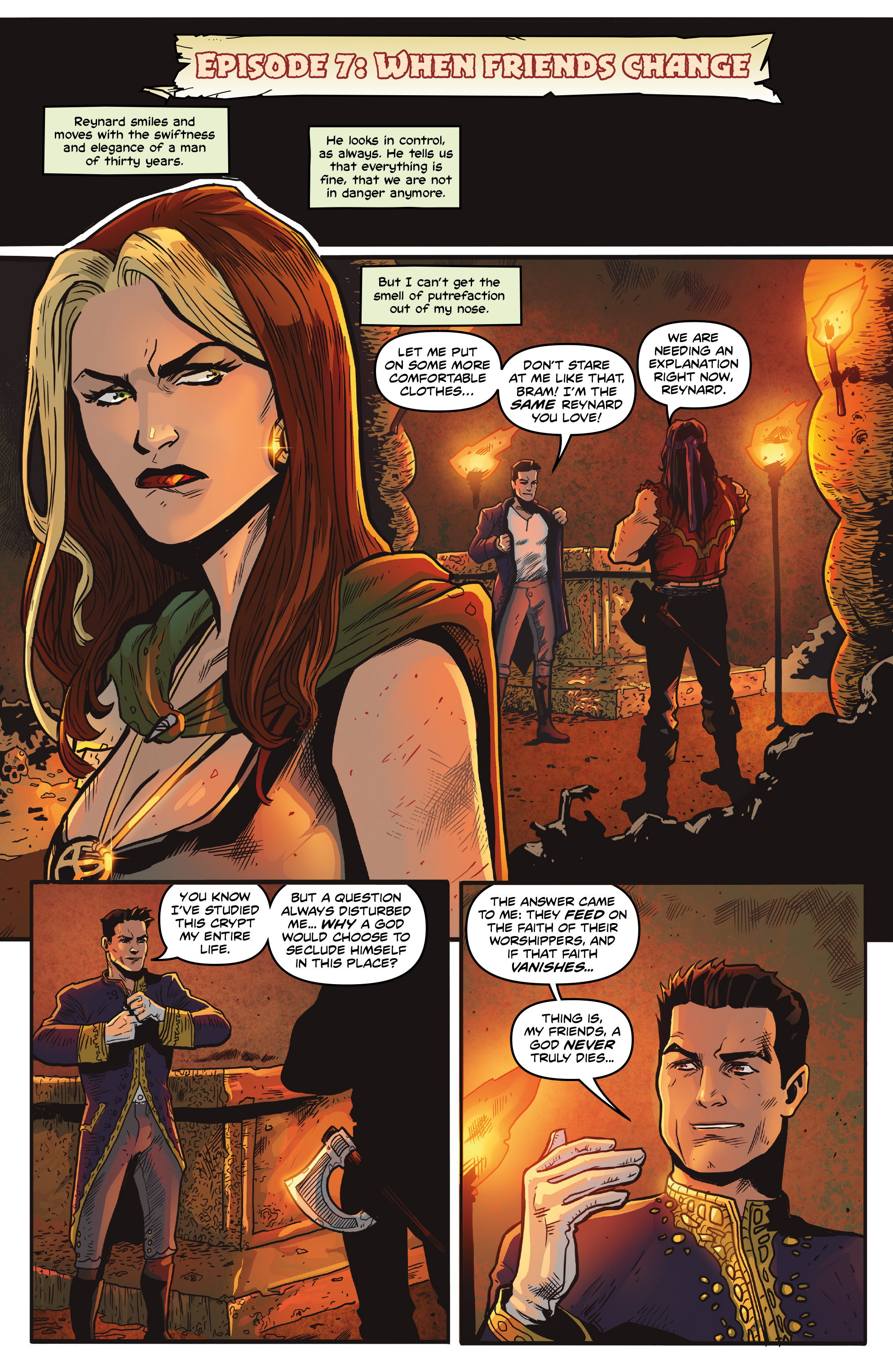 Read online Rogues!: The Burning Heart comic -  Issue #5 - 10