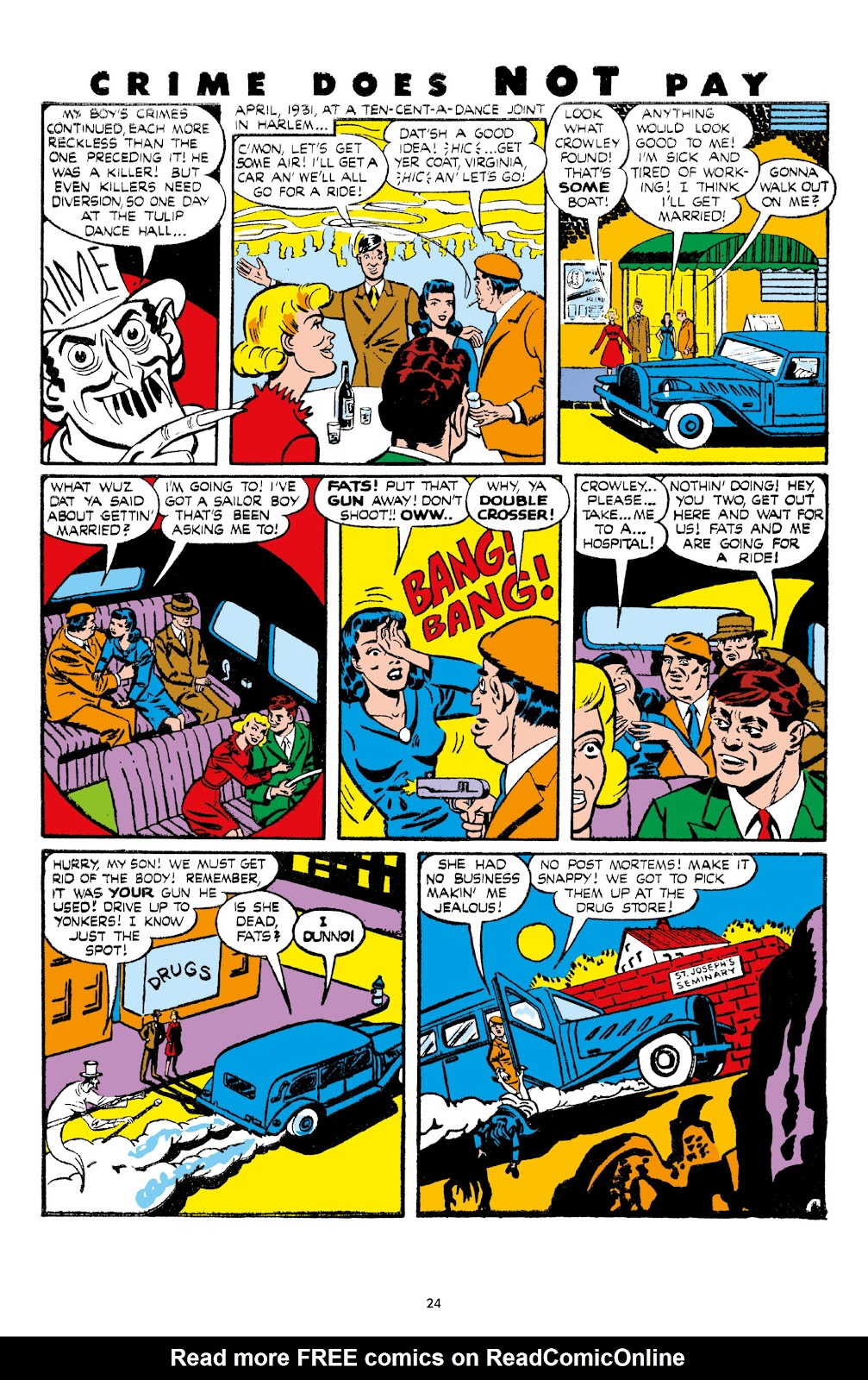 Read online Crime Does Not Pay Archives comic -  Issue # TPB 7 (Part 1) - 26