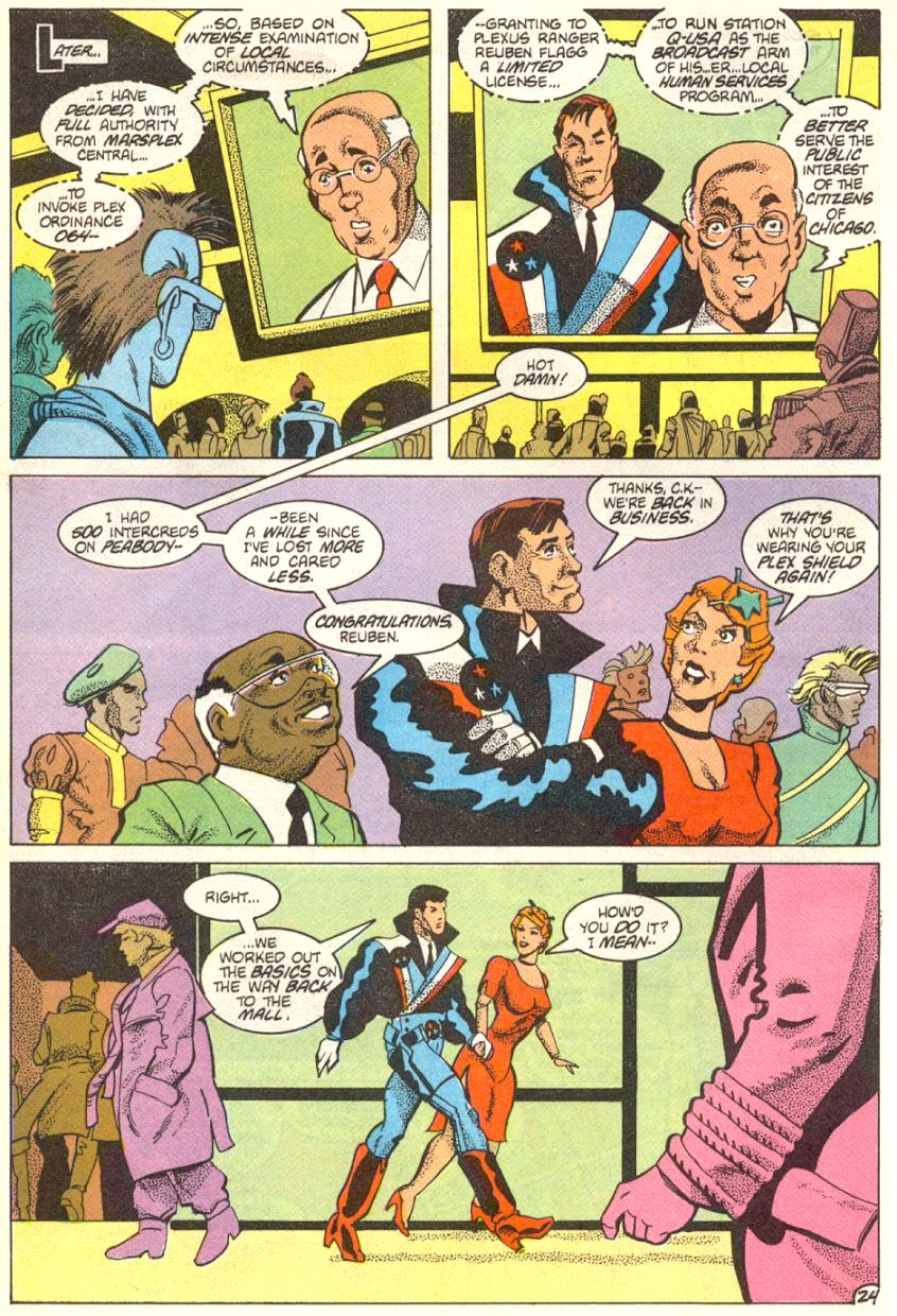 Read online American Flagg! comic -  Issue #14 - 25