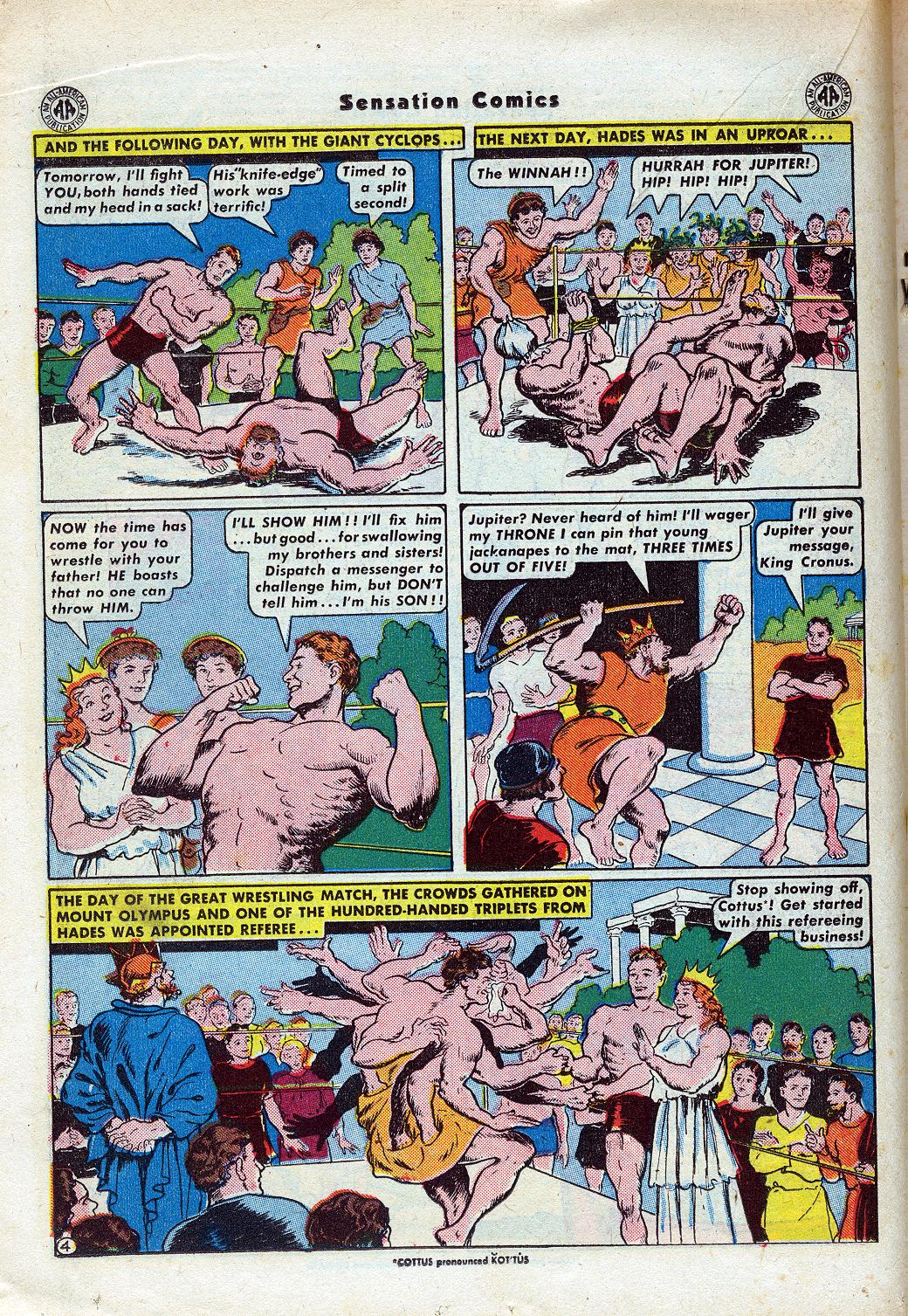 Read online Sensation (Mystery) Comics comic -  Issue #46 - 26