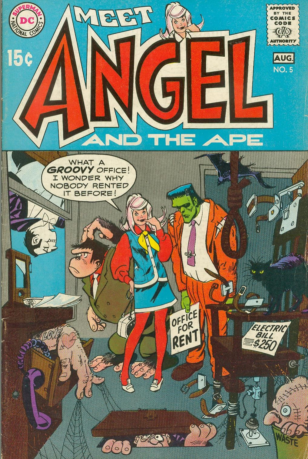 Angel And The Ape (1968) issue 5 - Page 1