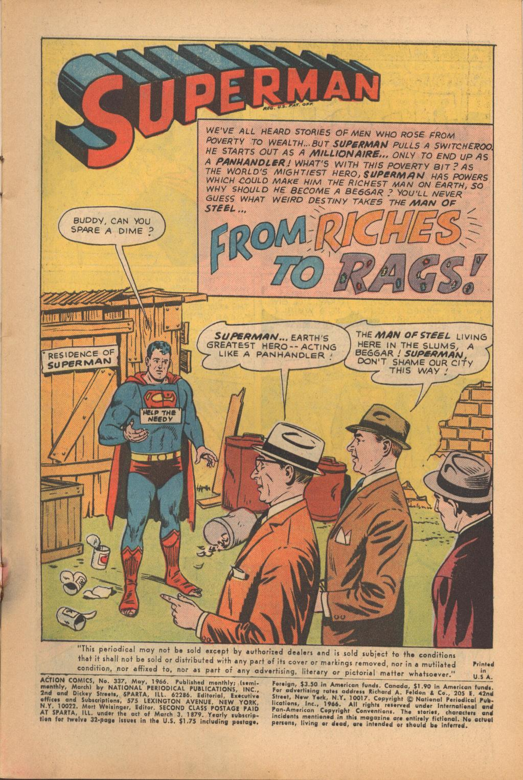 Read online Action Comics (1938) comic -  Issue #337 - 3