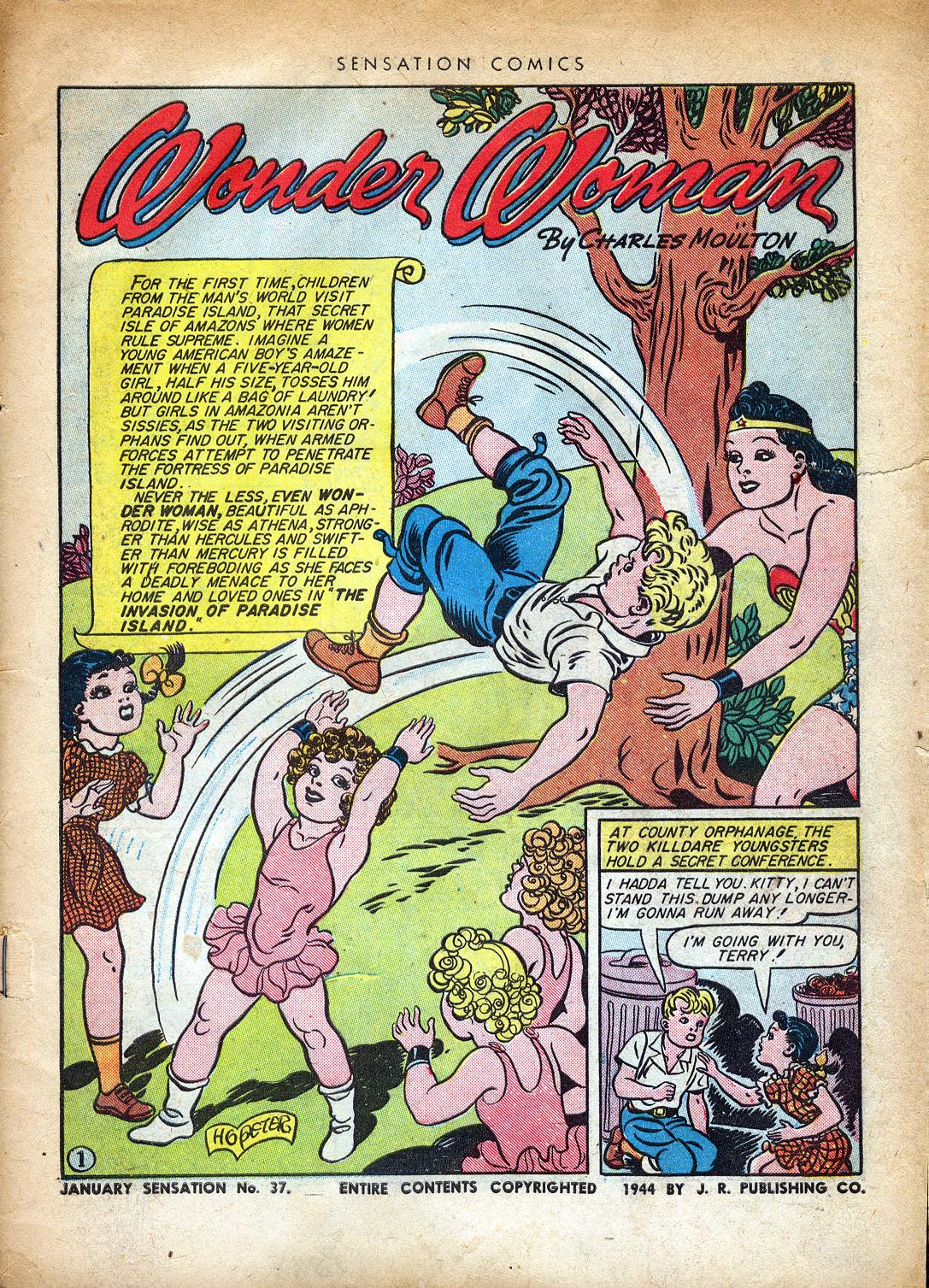Read online Sensation (Mystery) Comics comic -  Issue #37 - 3