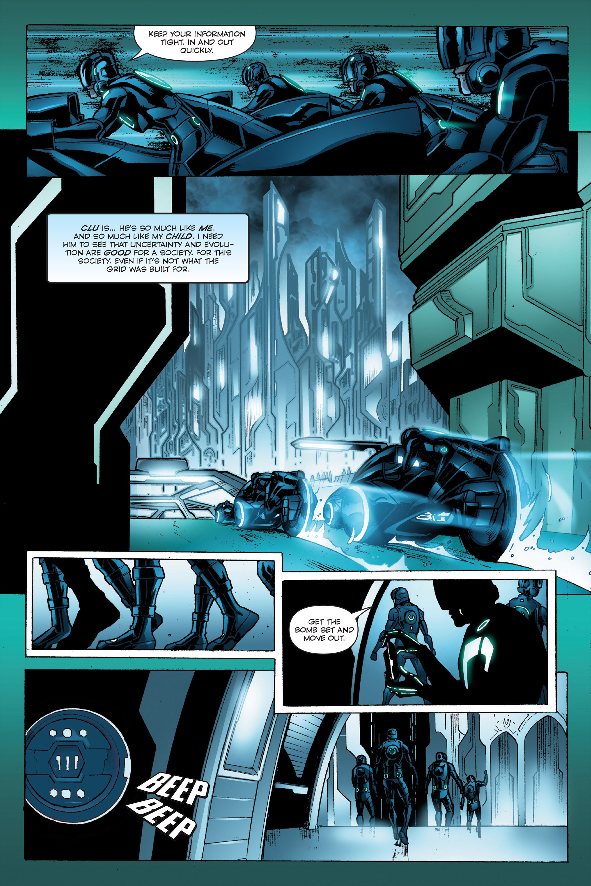 Read online TRON: Betrayal comic -  Issue # TPB - 91