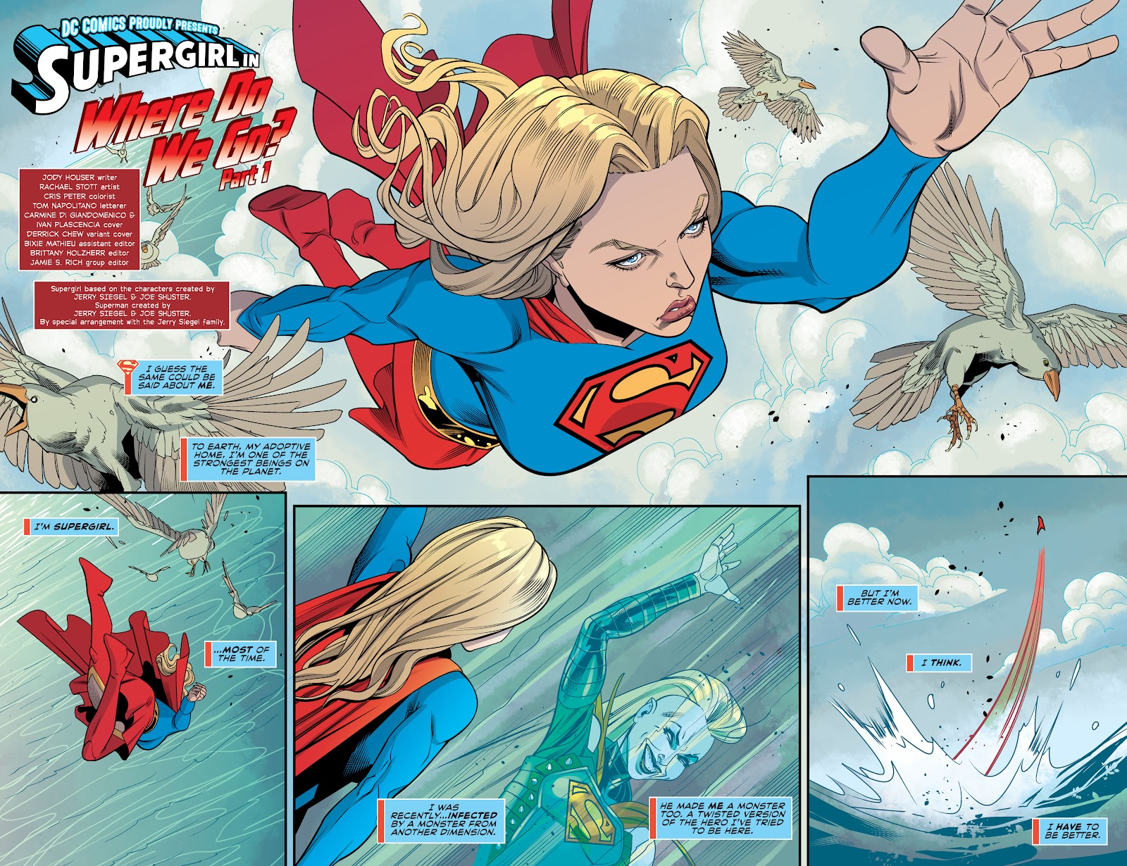 Read online Supergirl (2016) comic -  Issue #41 - 4