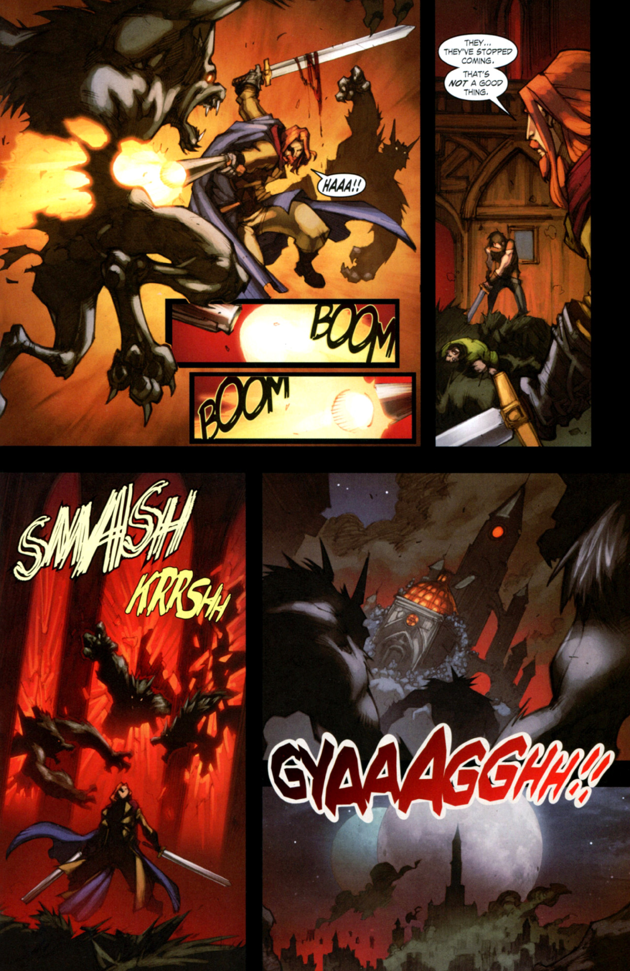 Read online World of Warcraft: Curse of the Worgen comic -  Issue #4 - 26