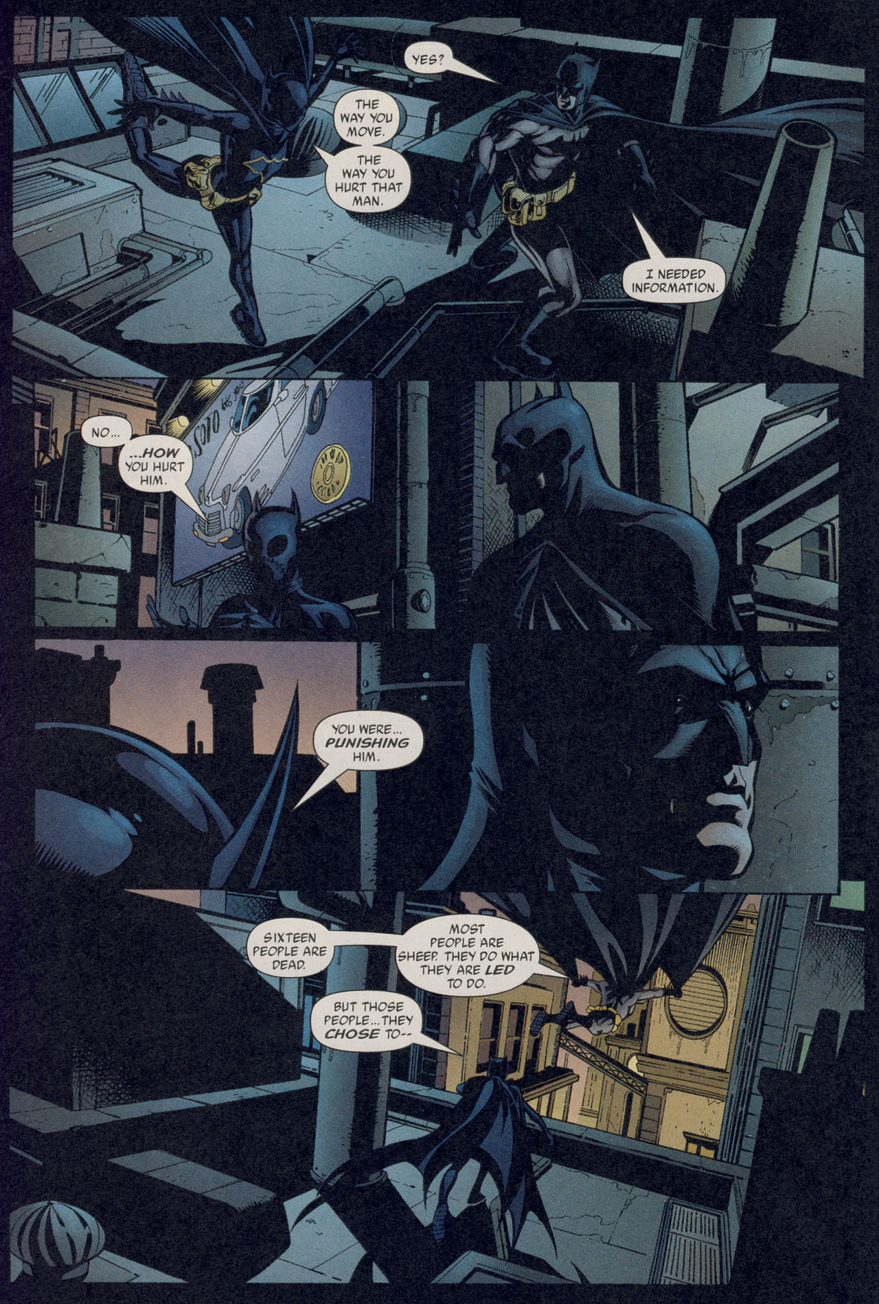 Read online Batman War Drums comic -  Issue # TPB - 17