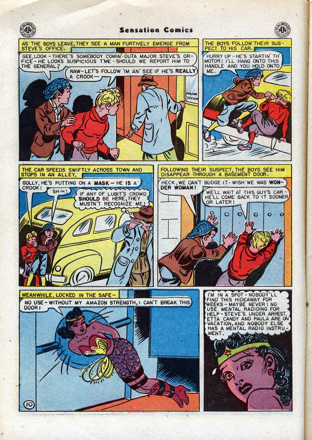 Read online Sensation (Mystery) Comics comic -  Issue #44 - 12
