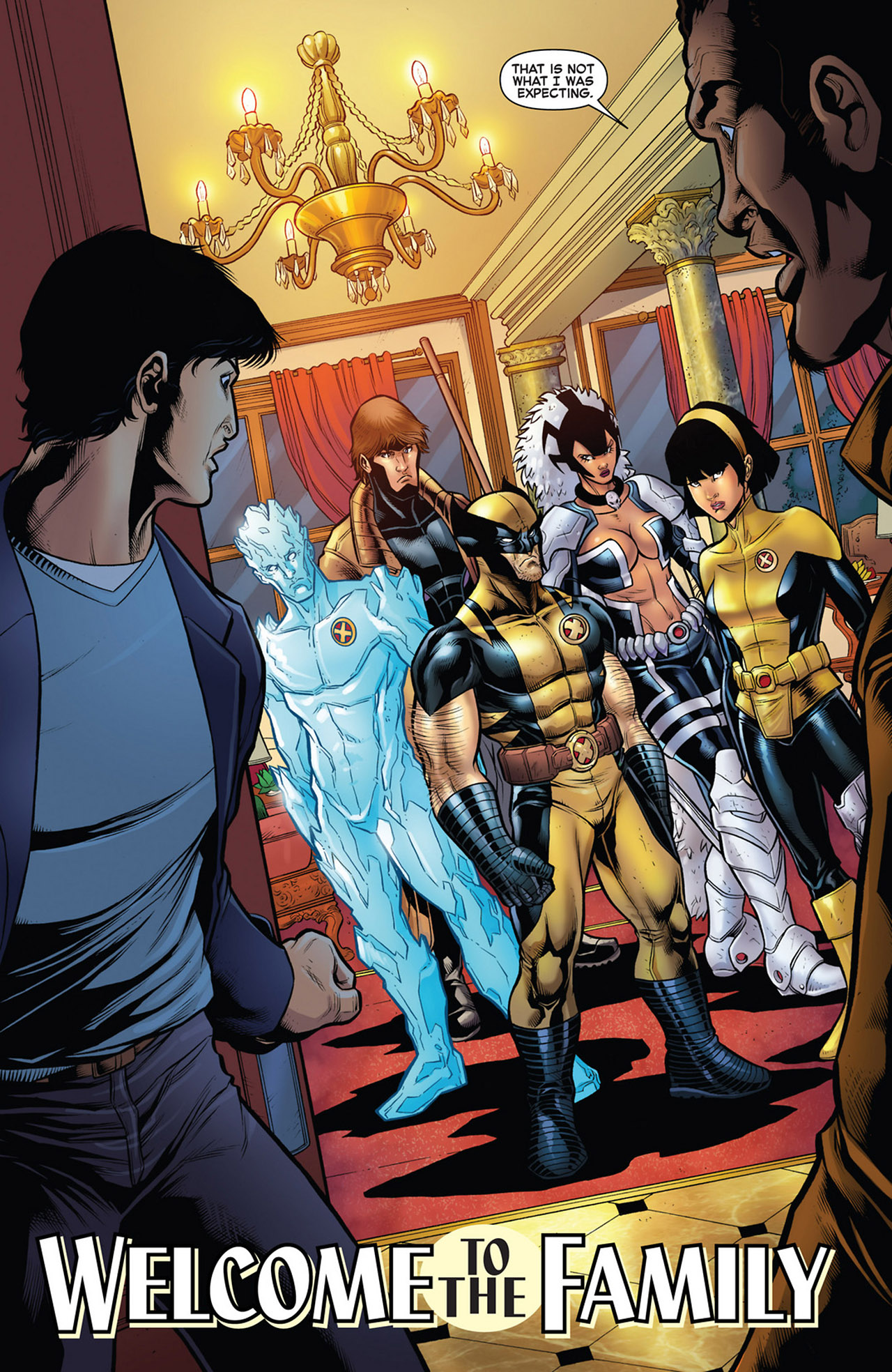 Read online Astonishing X-Men (2004) comic -  Issue # _Annual 1 - 38