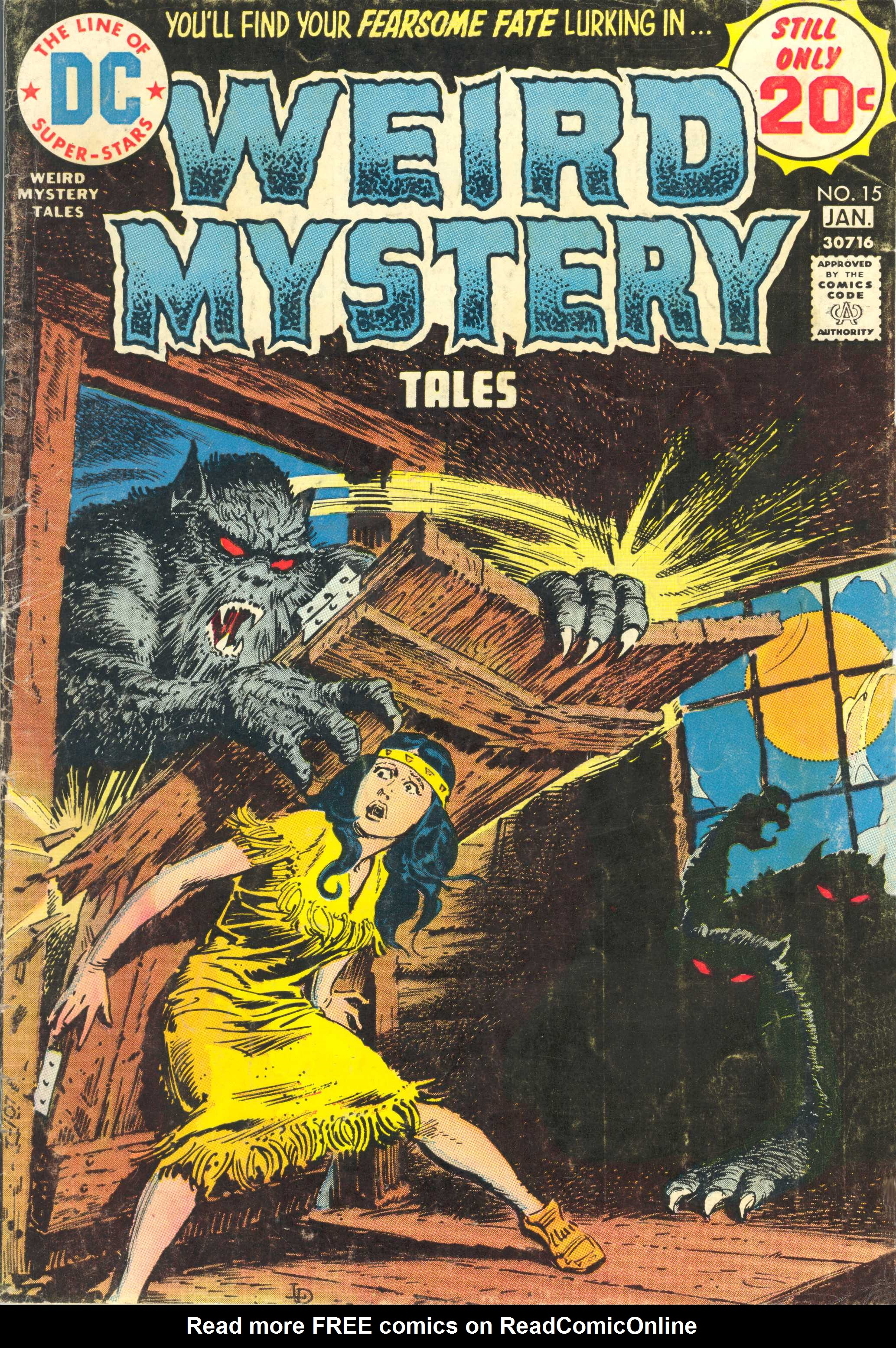 Weird Mystery Tales 15 Page 1