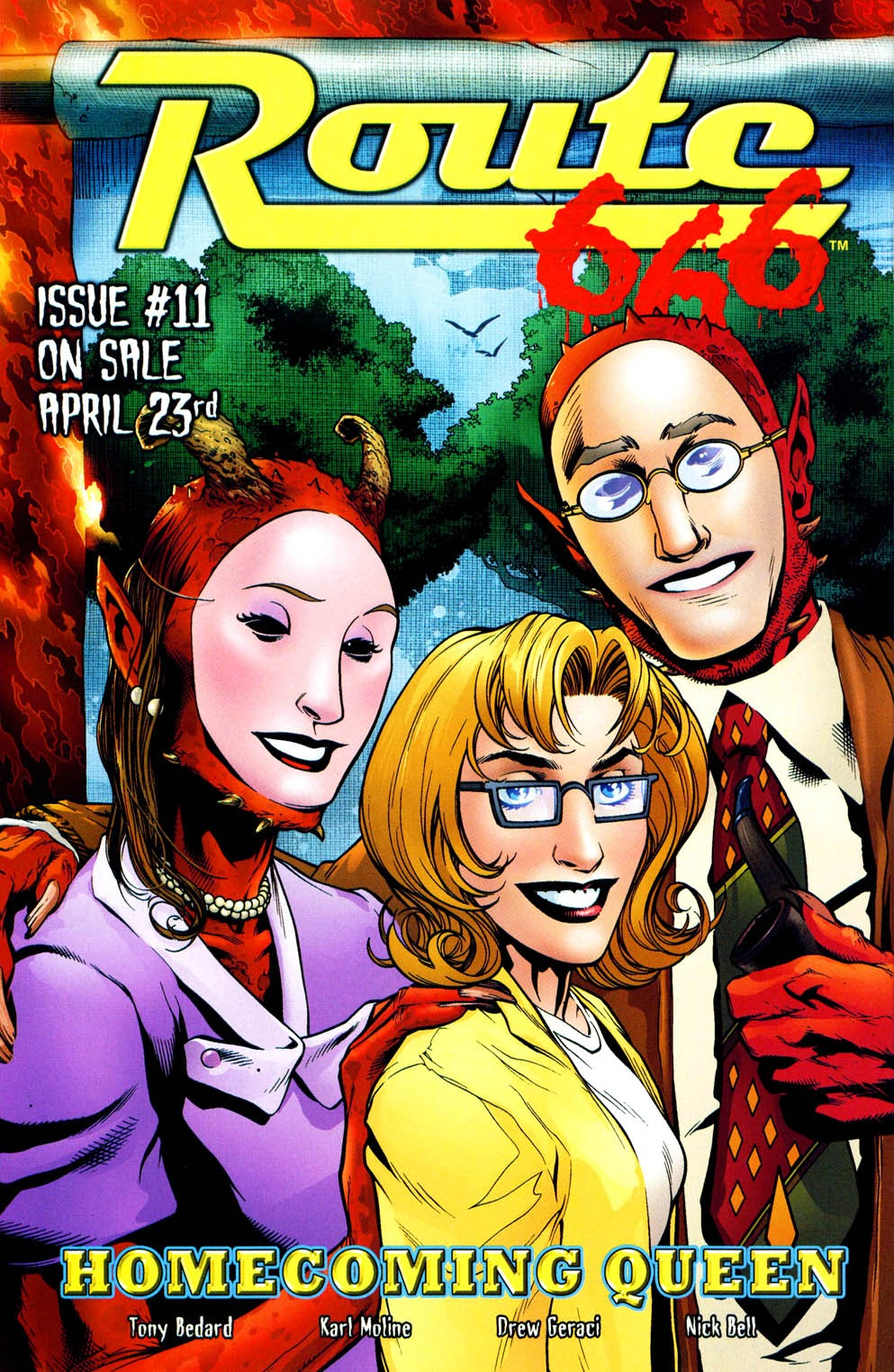 Read online Route 666 comic -  Issue #10 - 27
