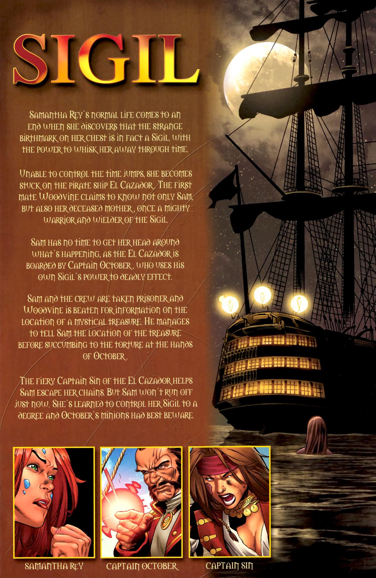 Read online Sigil (2011) comic -  Issue #3 - 2