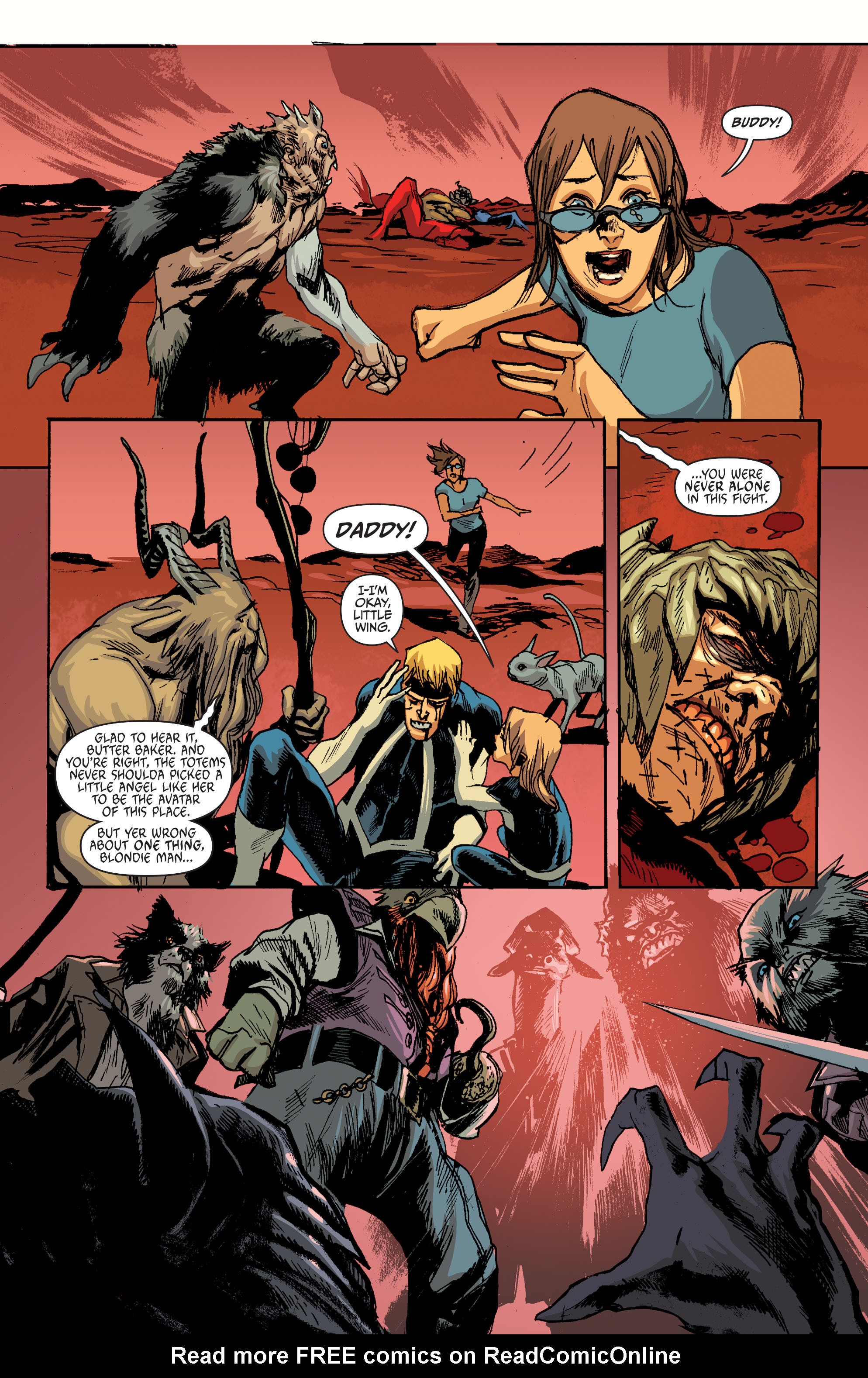 Read online Animal Man (2011) comic -  Issue #28 - 18