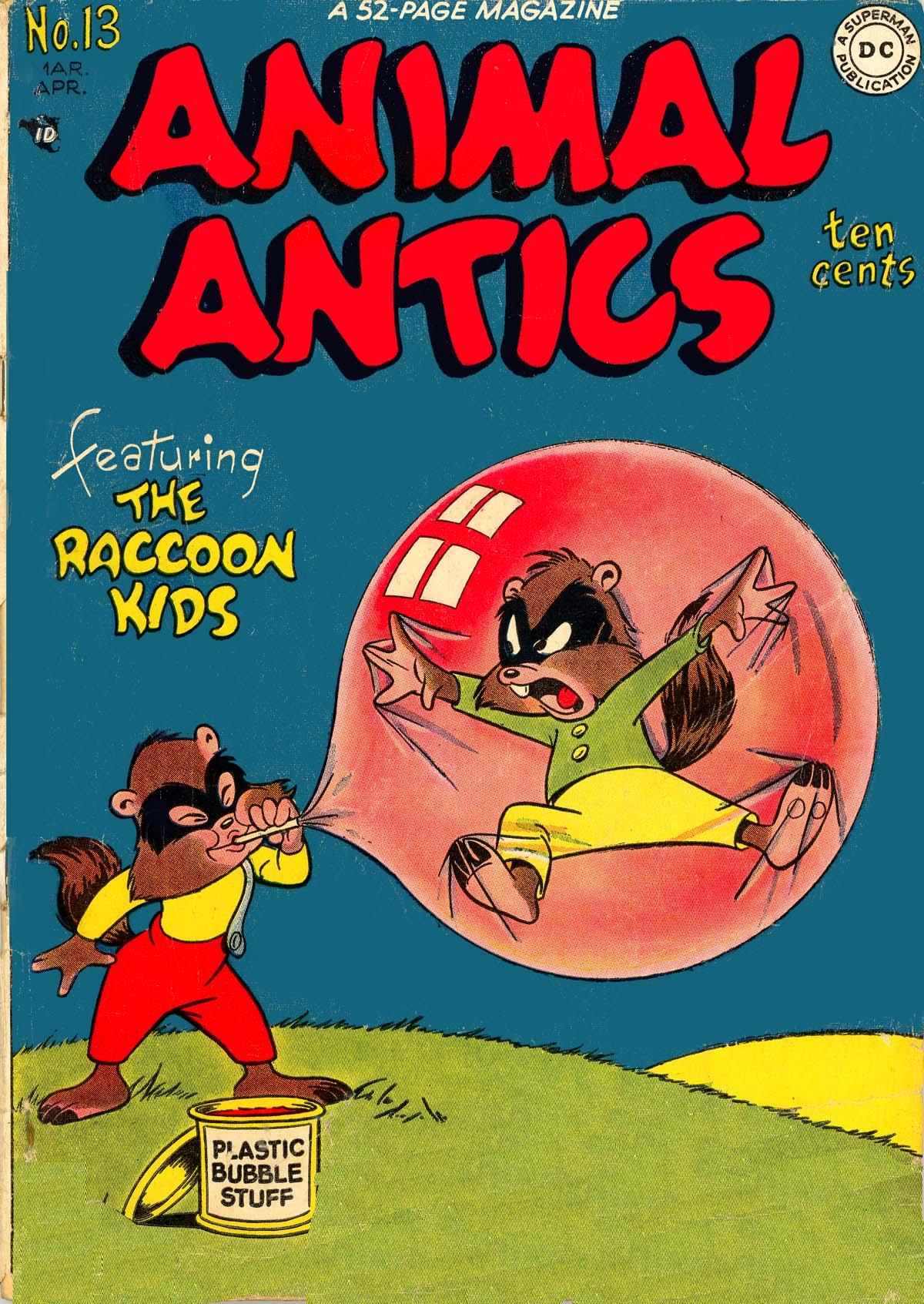 Read online Animal Antics comic -  Issue #13 - 1