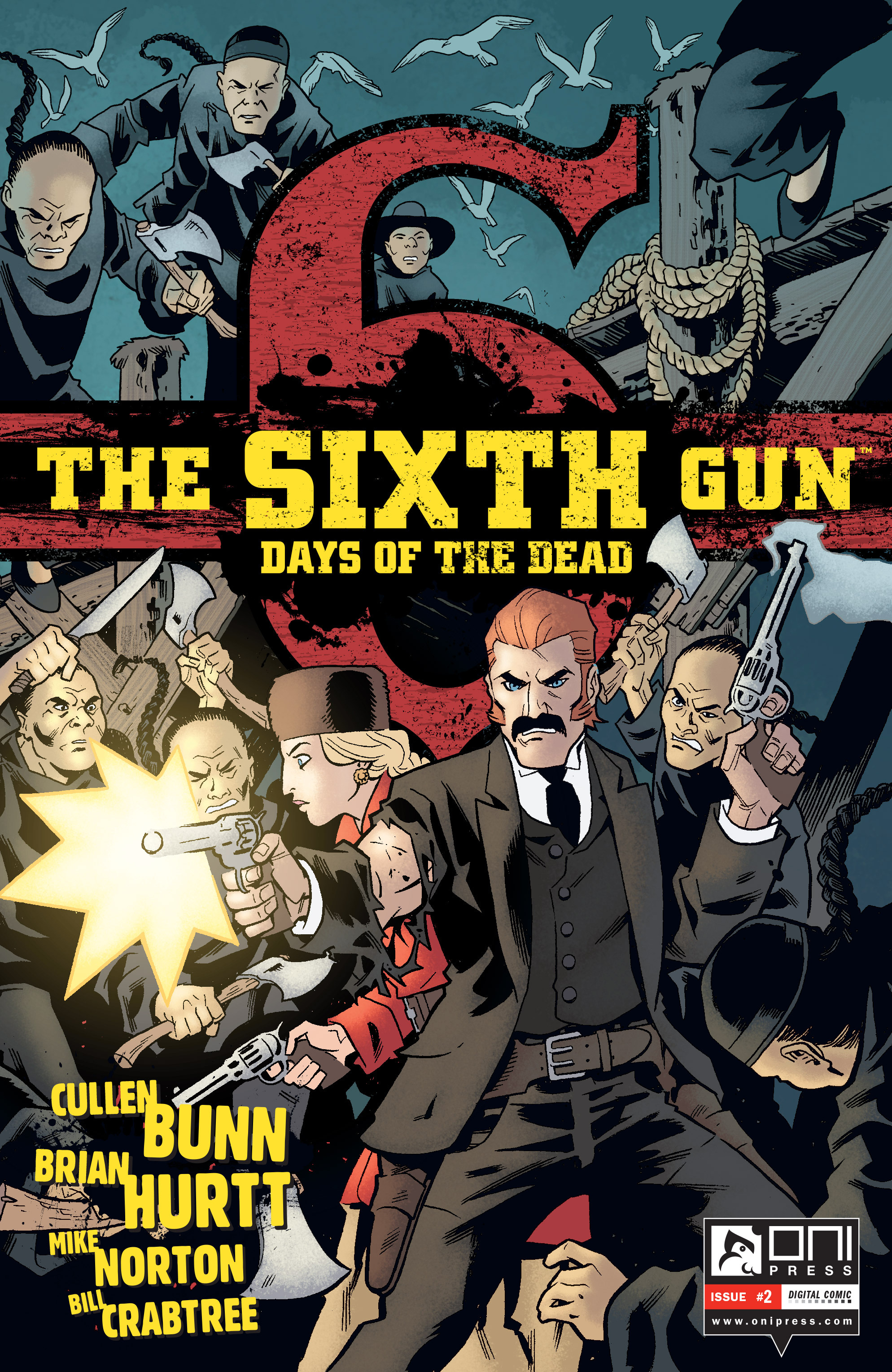 The Sixth Gun: Days of the Dead 2 Page 1