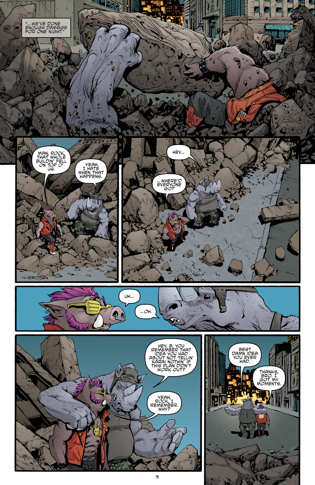 Read online Teenage Mutant Ninja Turtles: The IDW Collection comic -  Issue # TPB 5 (Part 2) - 69