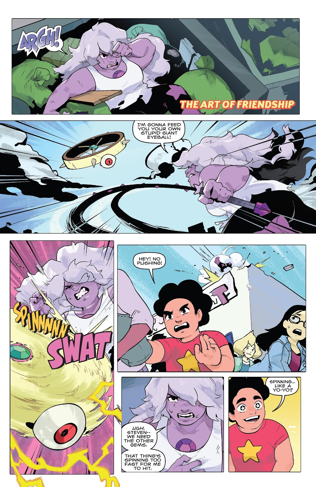 Read online Steven Universe: Fusion Frenzy comic -  Issue # Full - 18