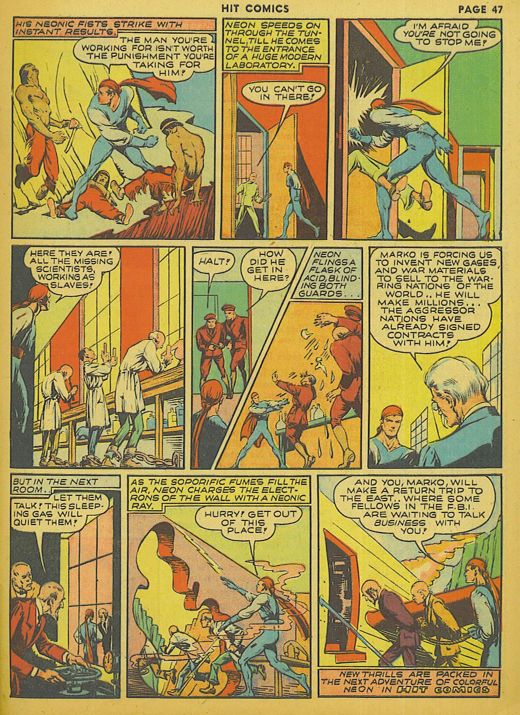 Read online Hit Comics comic -  Issue #13 - 49