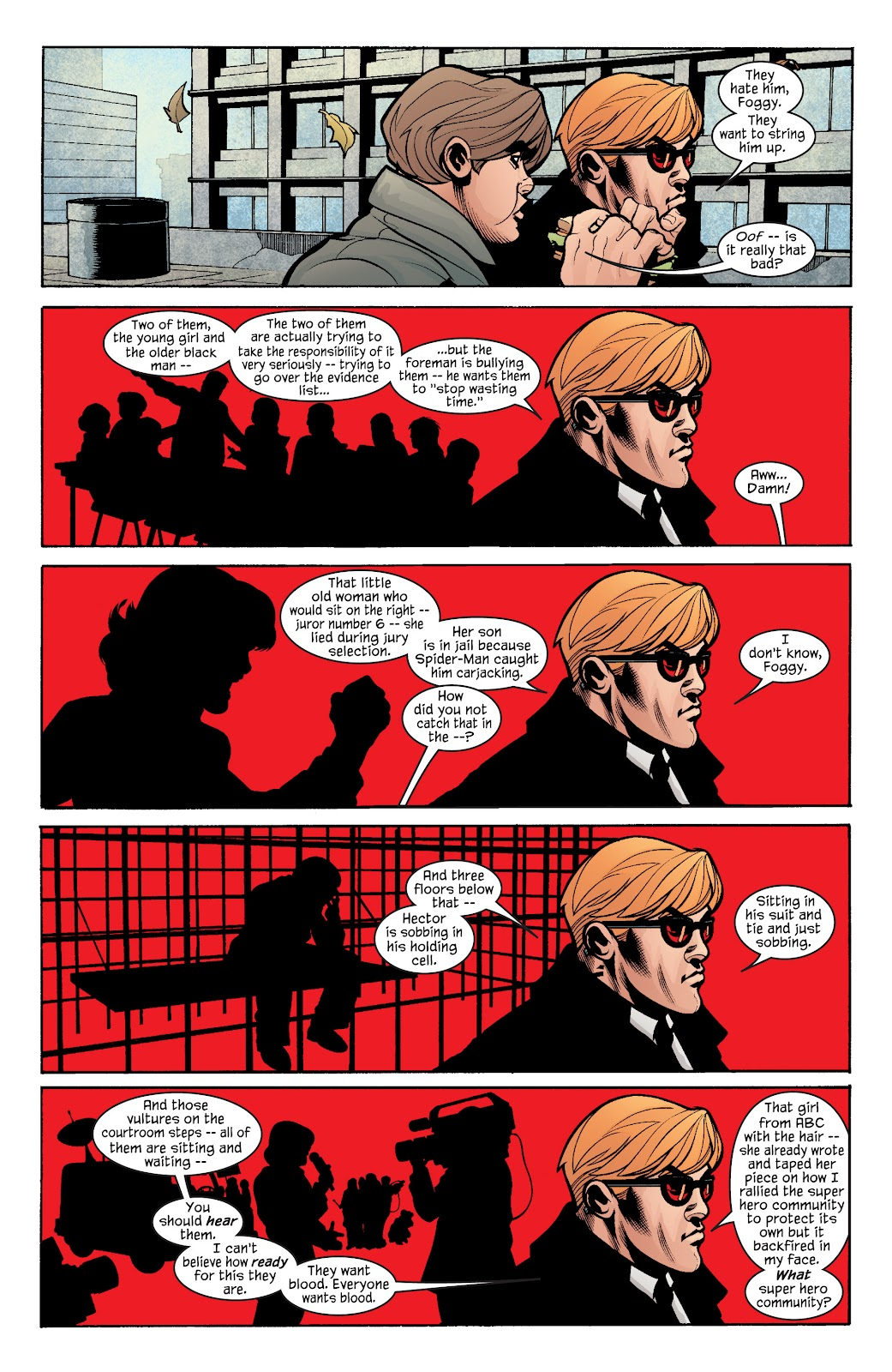Read online Daredevil (1998) comic -  Issue # _Ultimate_Collection TPB 1 (Part 4) - 94