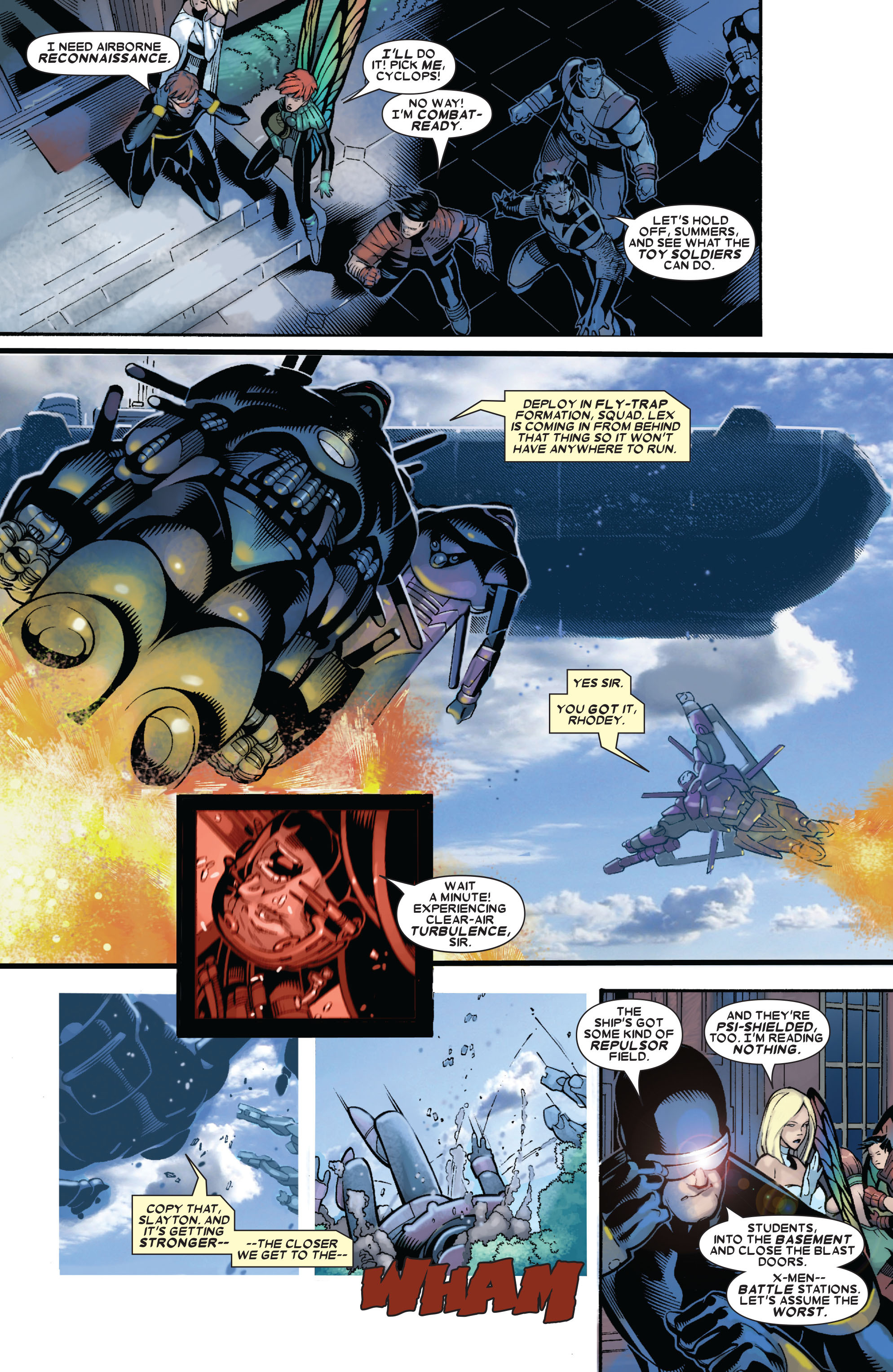 X-Men (1991) 193 Page 3