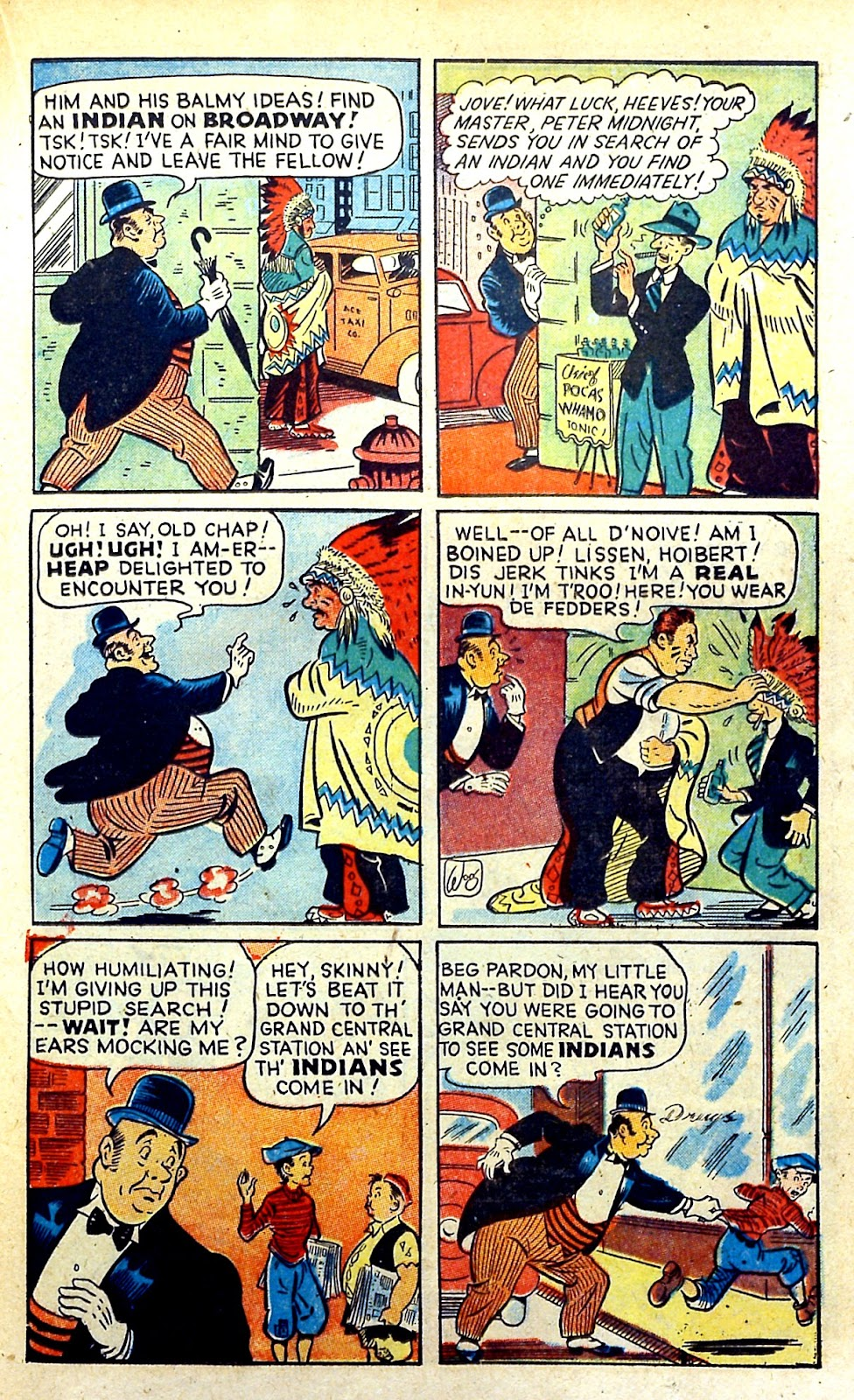 Read online Famous Funnies comic -  Issue #145 - 21