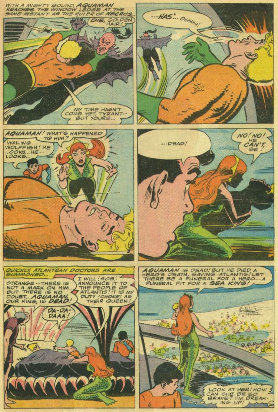 Read online Aquaman (1962) comic -  Issue #30 - 29