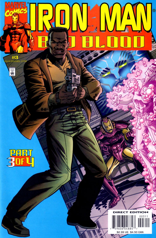 Iron Man: Bad Blood 3 Page 1