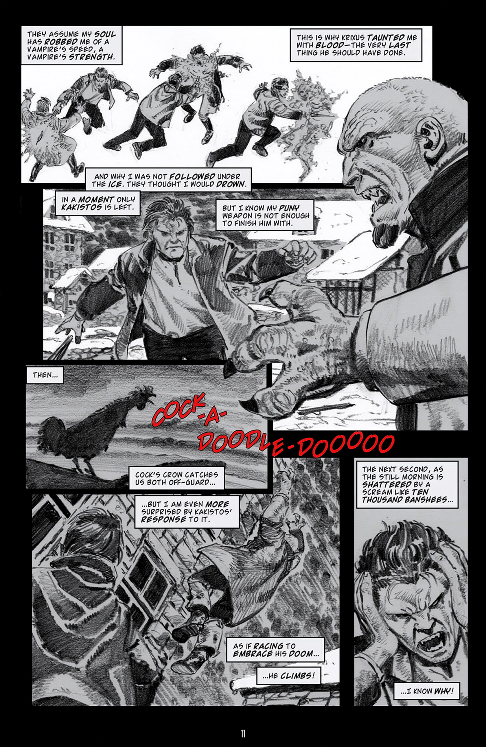 Read online Angel: Blood & Trenches comic -  Issue #4 - 14