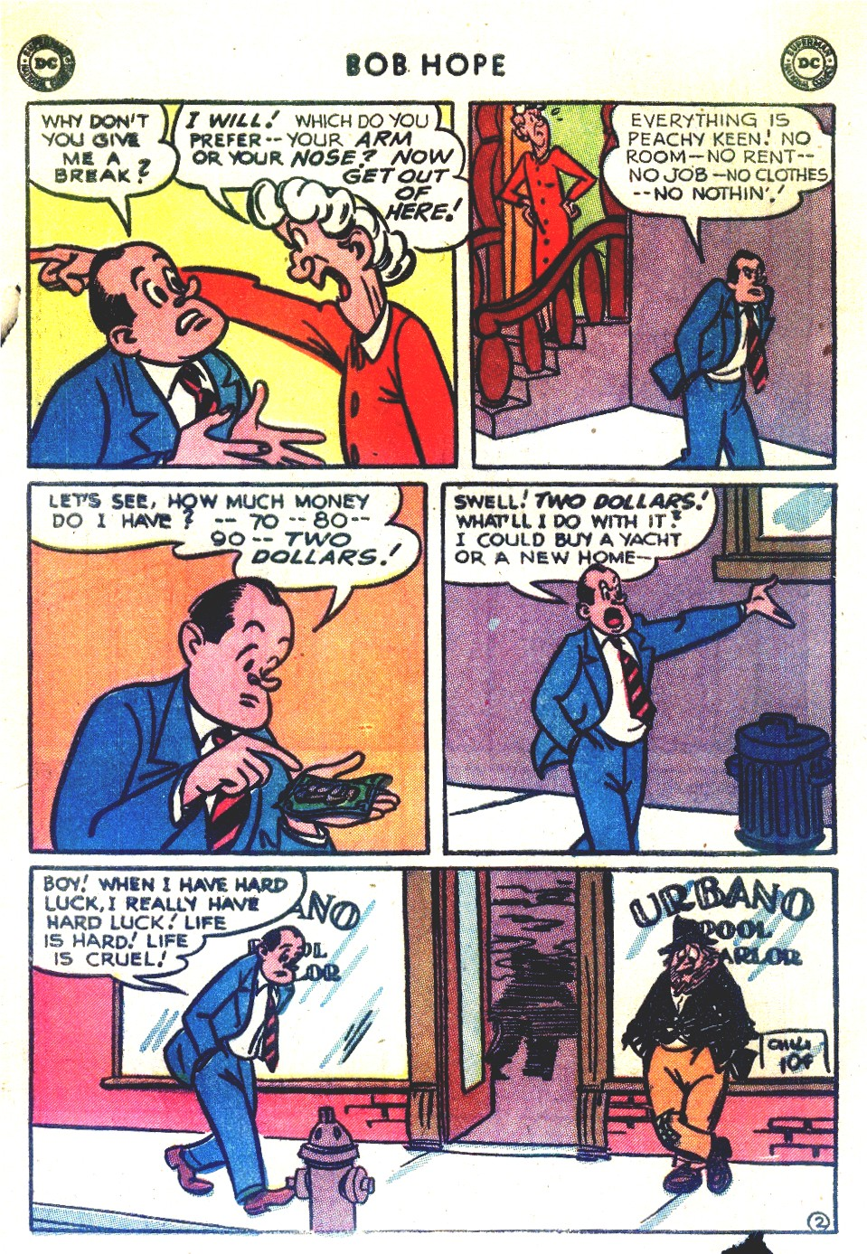 The Adventures of Bob Hope issue 27 - Page 4