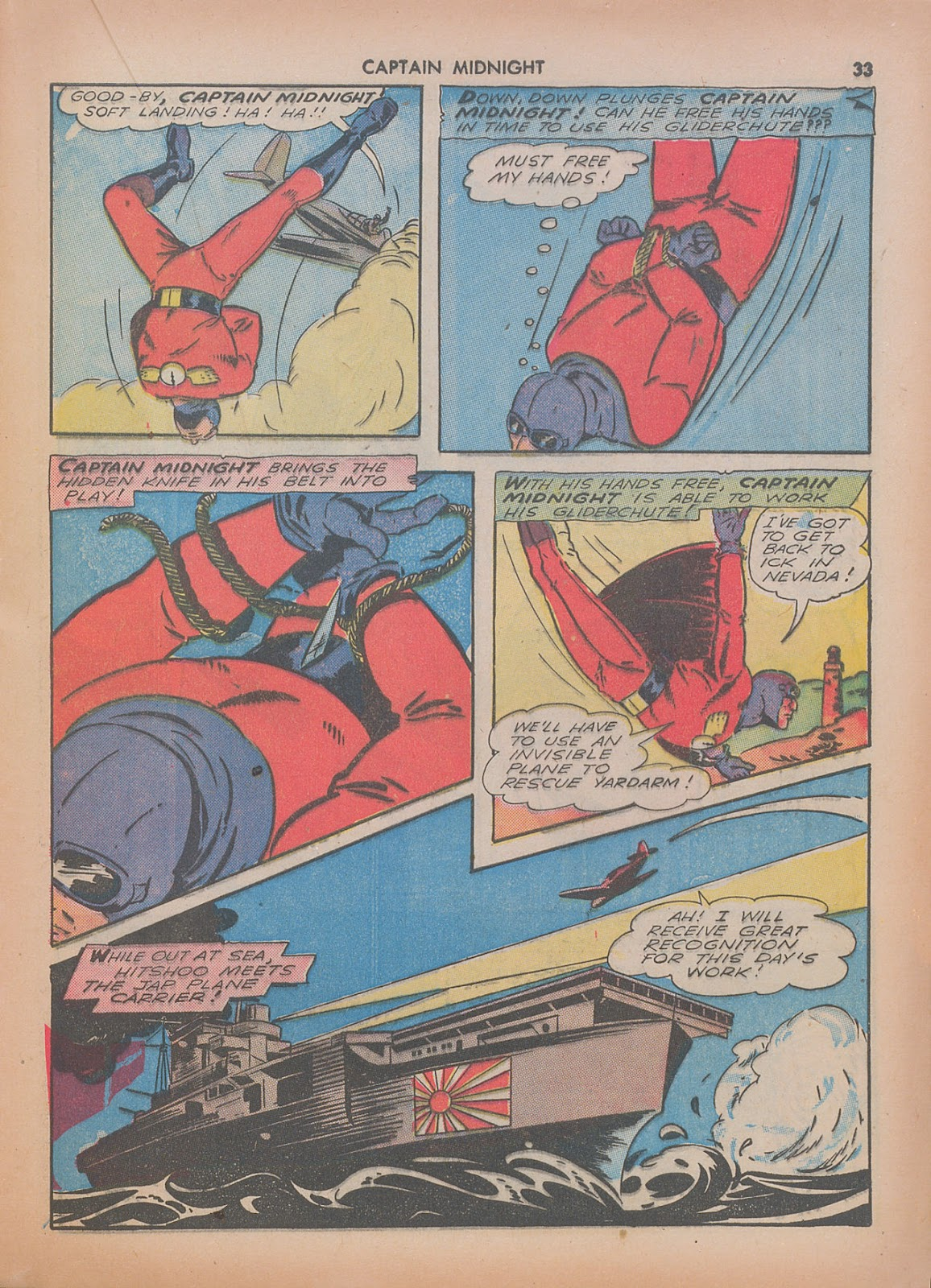 Captain Midnight (1942) issue 7 - Page 33