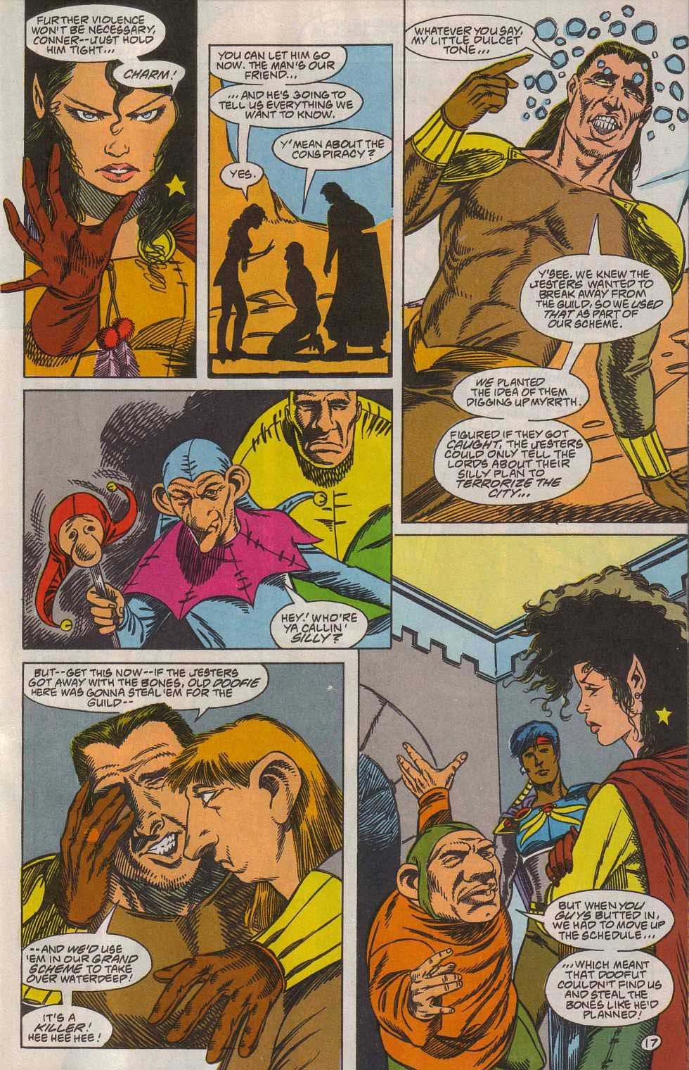 Read online Advanced Dungeons & Dragons comic -  Issue #7 - 18