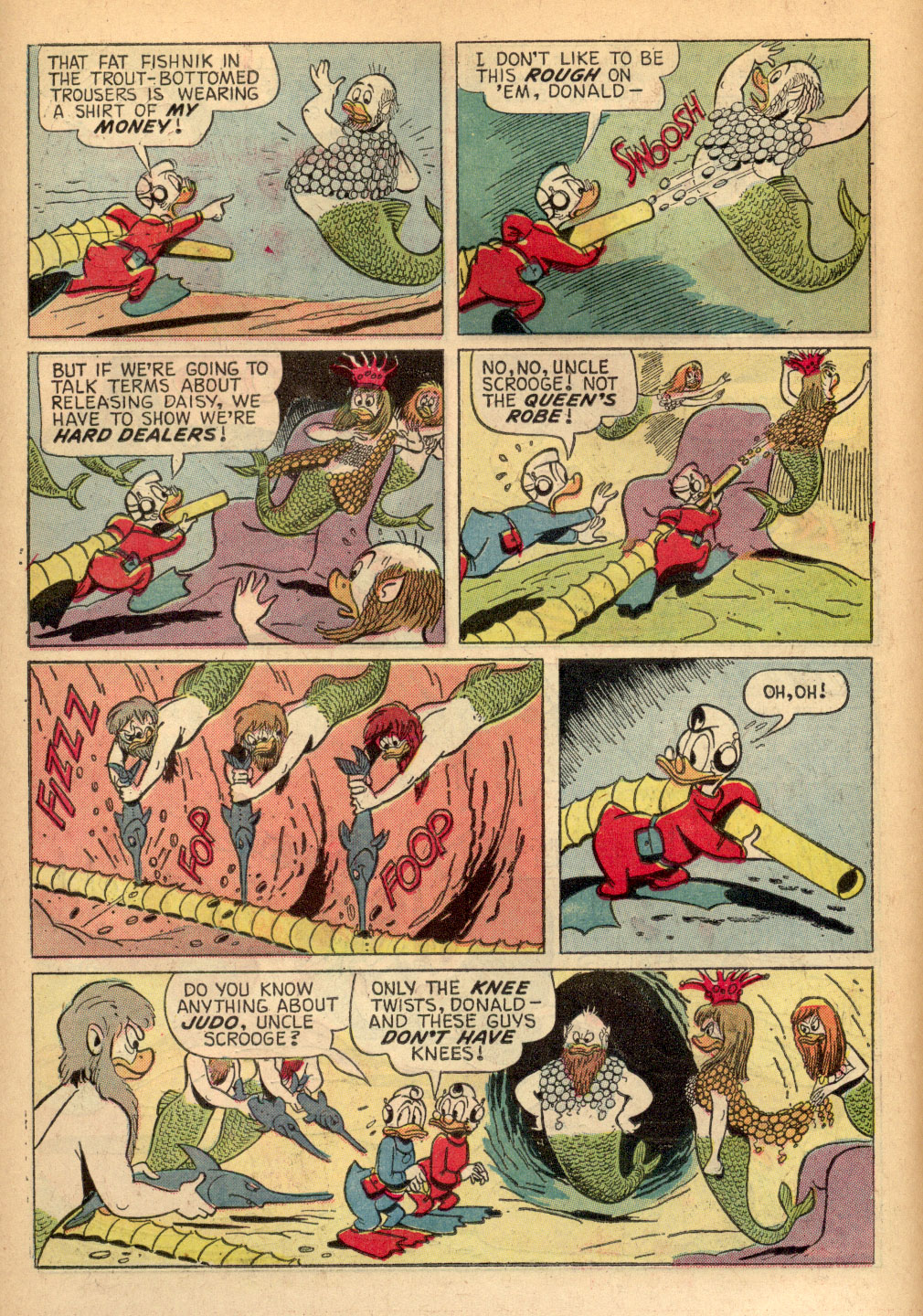 Read online Uncle Scrooge (1953) comic -  Issue #68 - 22